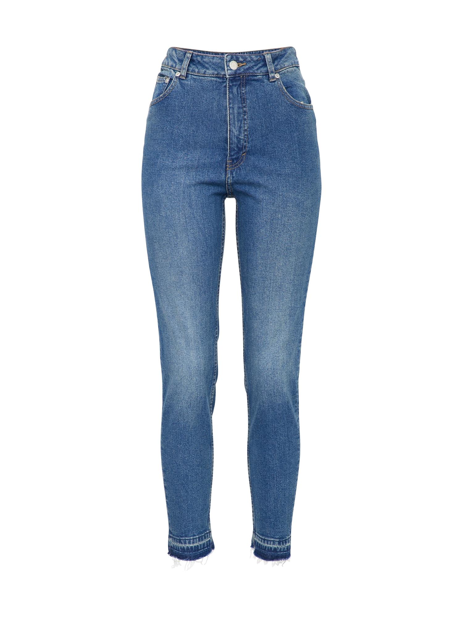 CHEAP MONDAY Dames Jeans Donna blue denim