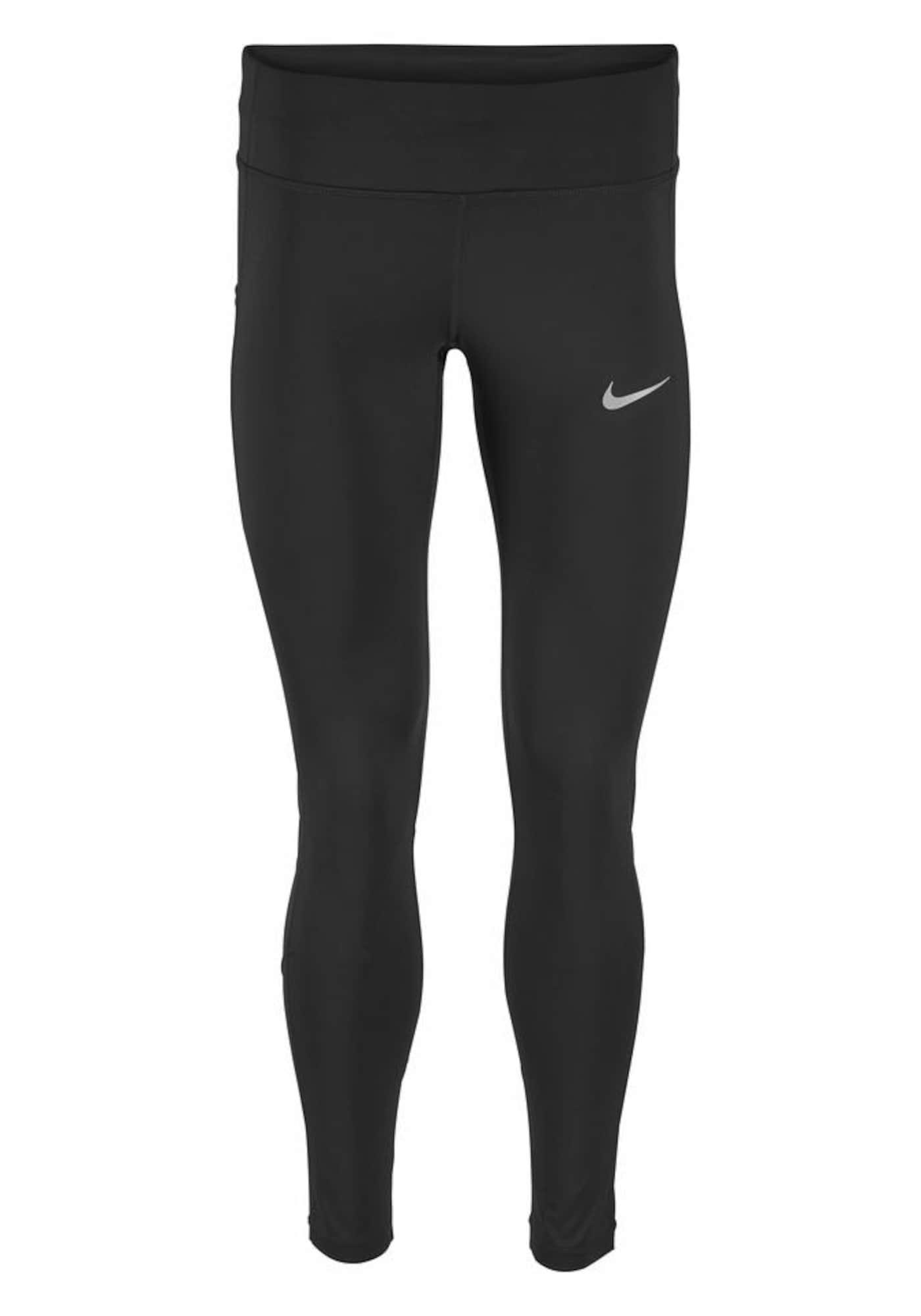 NIKE Športové nohavice 'POWER TIGHT RACER'  čierna