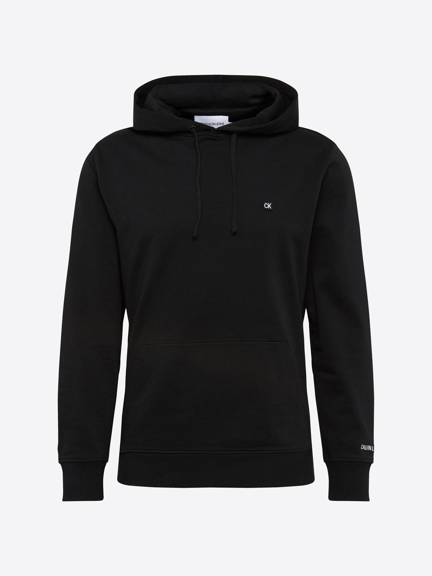 Sweatshirt 'CKJ CHEST EMBROIDERY HOODIE'