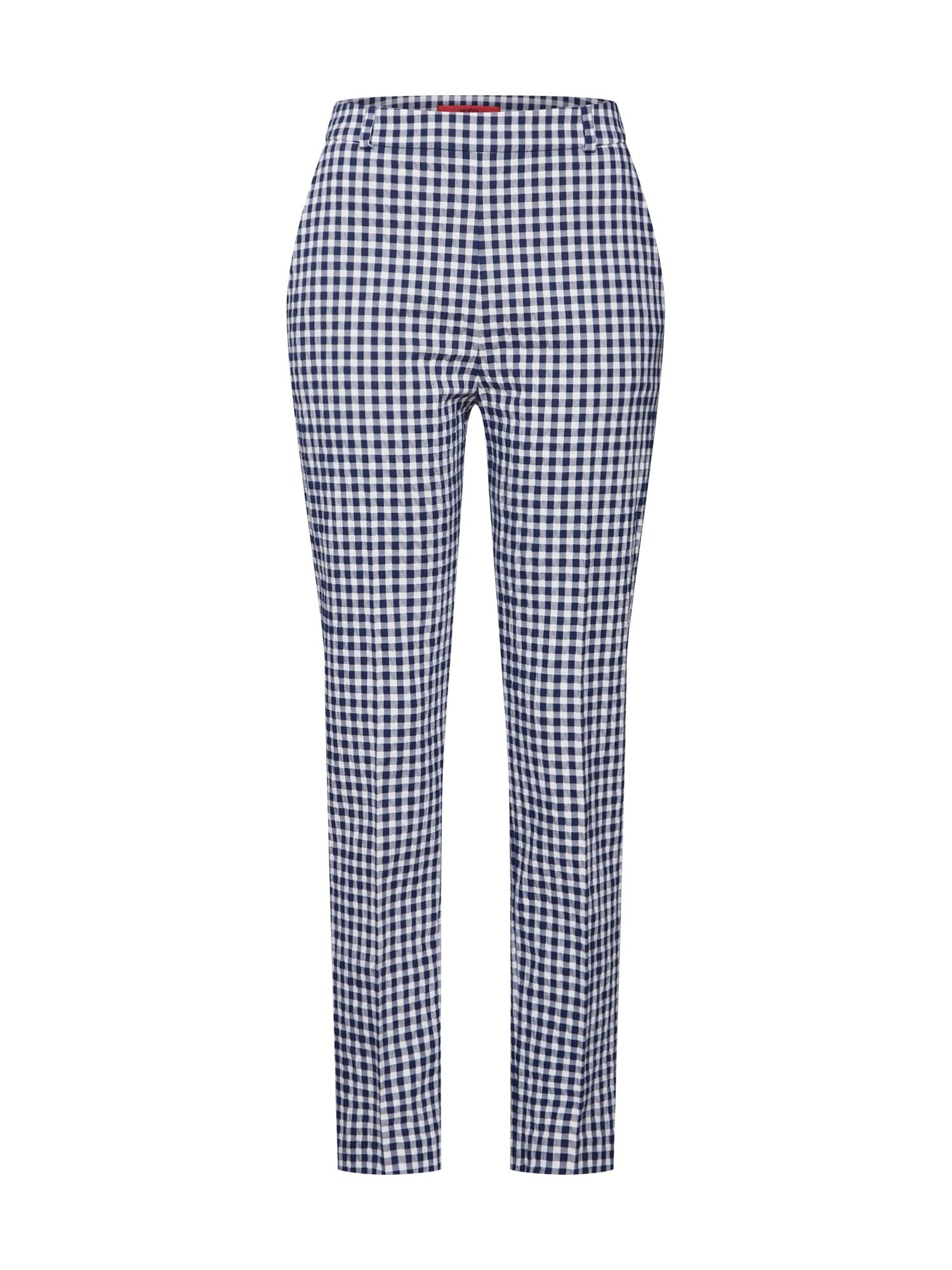 Chino kalhoty Helisy modrá HUGO