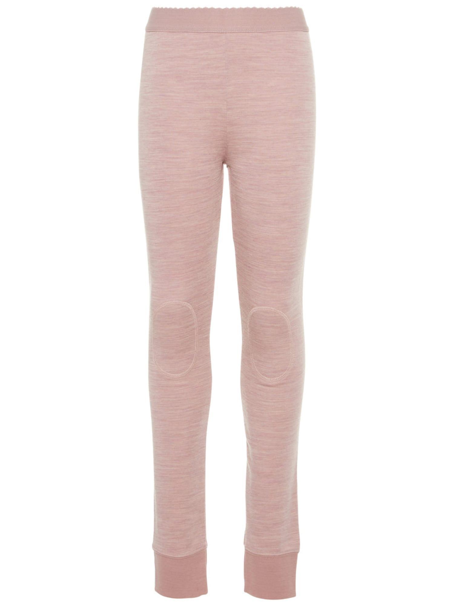 NAME IT Kids Wollen-katoenen Legging Dames Roze