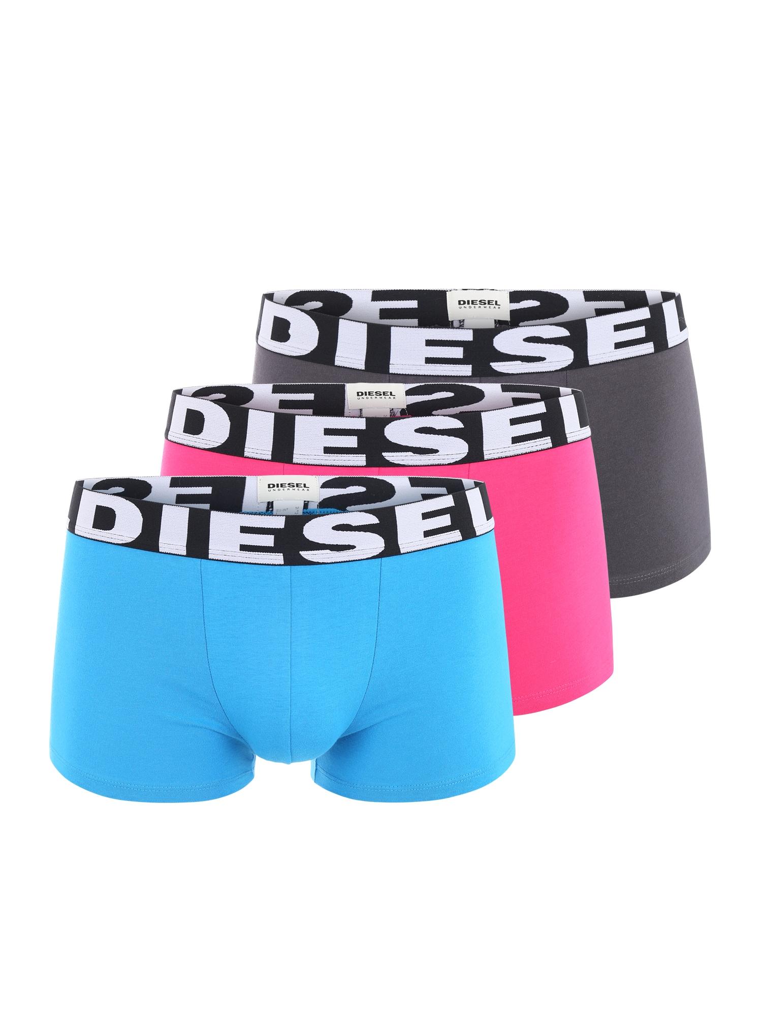DIESEL Heren Boxershorts blauw pink zwart