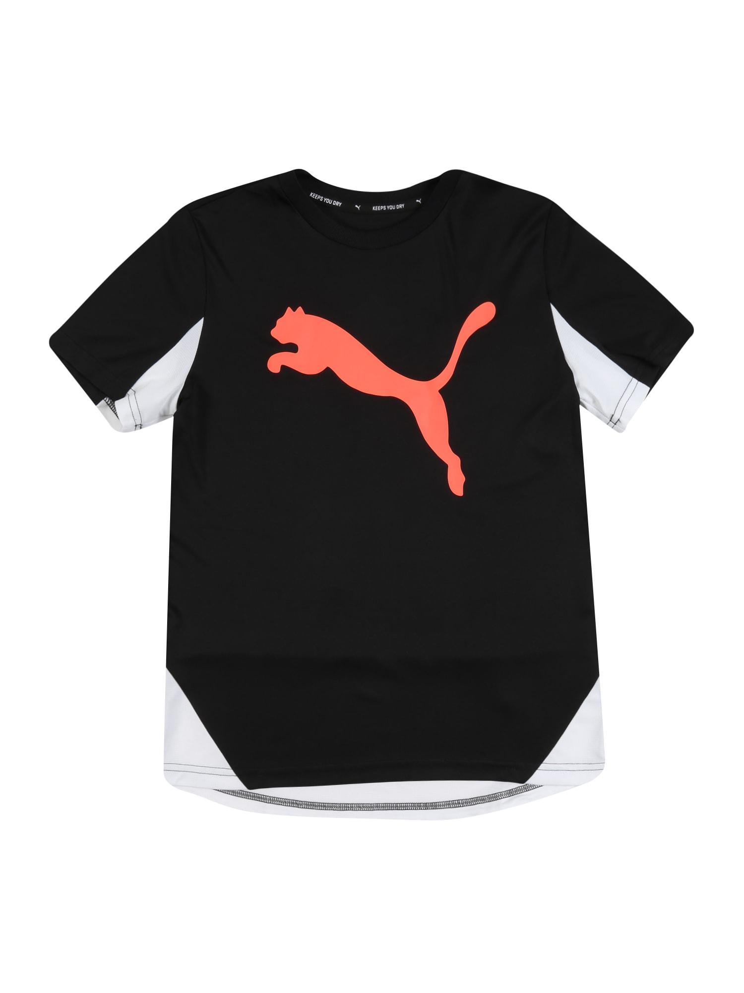 PUMA Funkčné tričko 'Cat Graphic Poly'  čierna