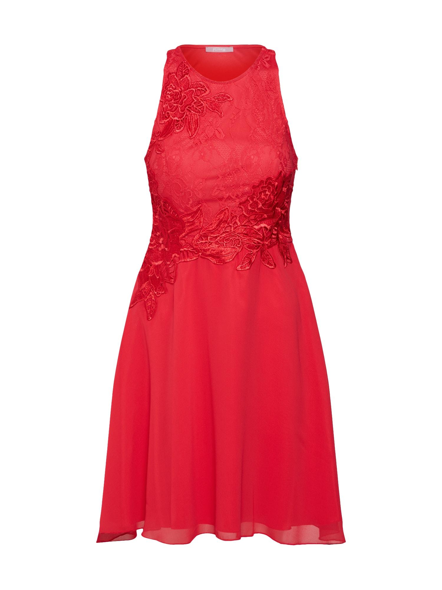Koktejlové šaty brusinková SUDDENLY Princess