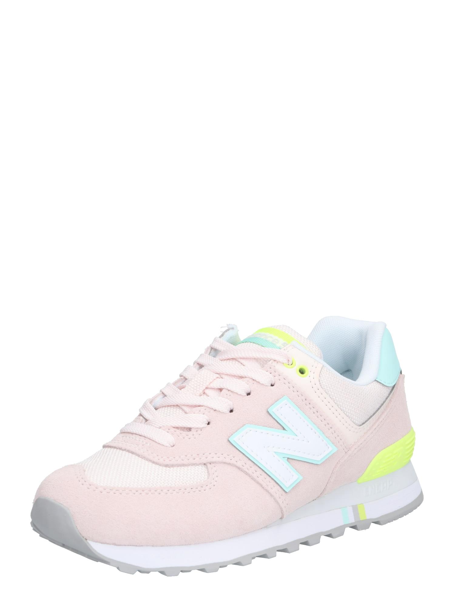 Tenisky WL574 pastelově růžová bílá New Balance