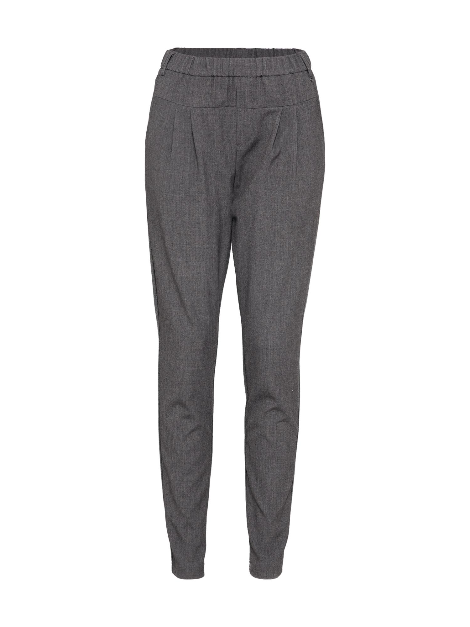 Kalhoty Sarah šedý melír CULTURE