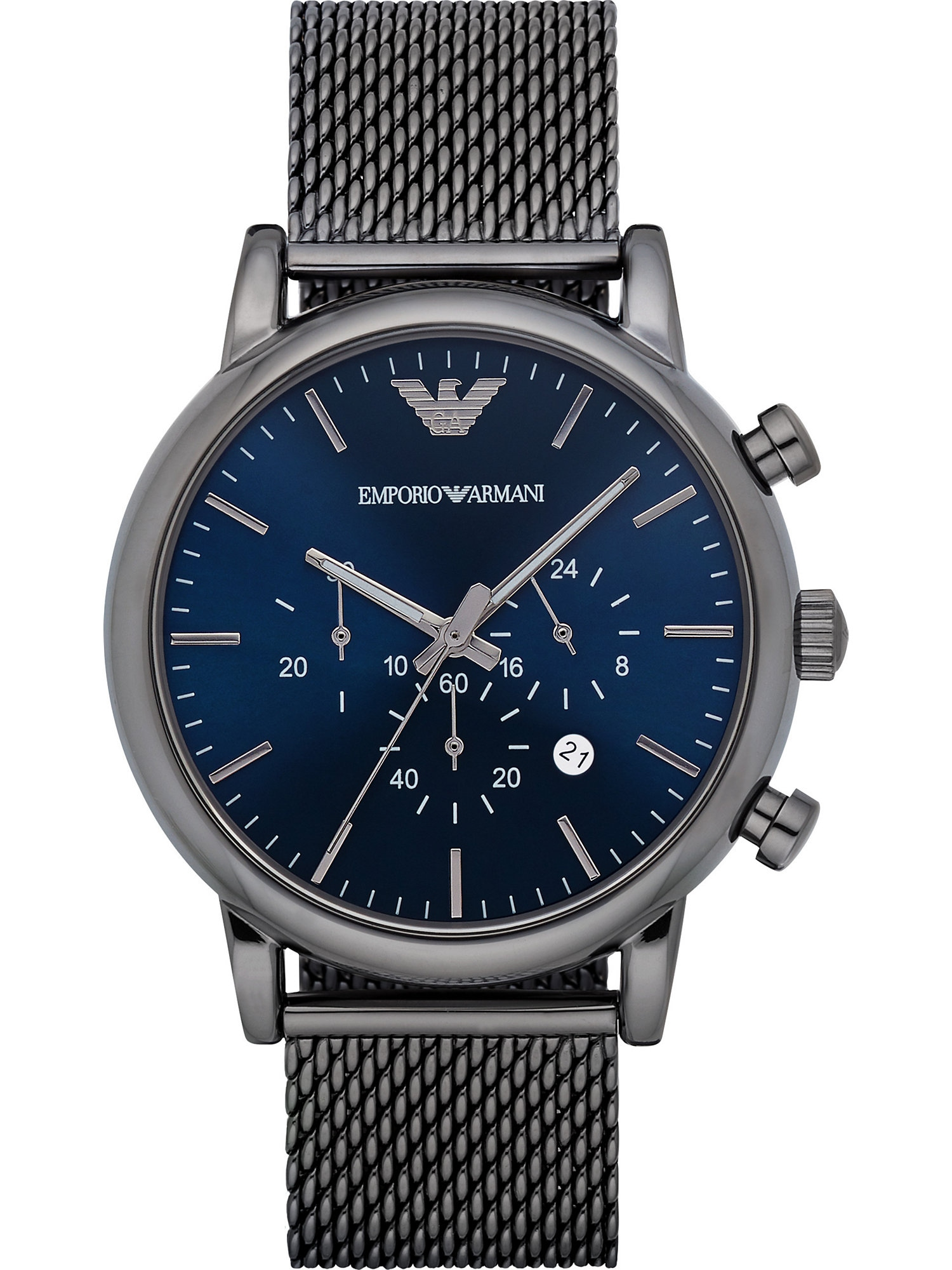 Armbanduhr mit Chronograph | Uhren > Sonstige Armbanduhren | Emporio Armani