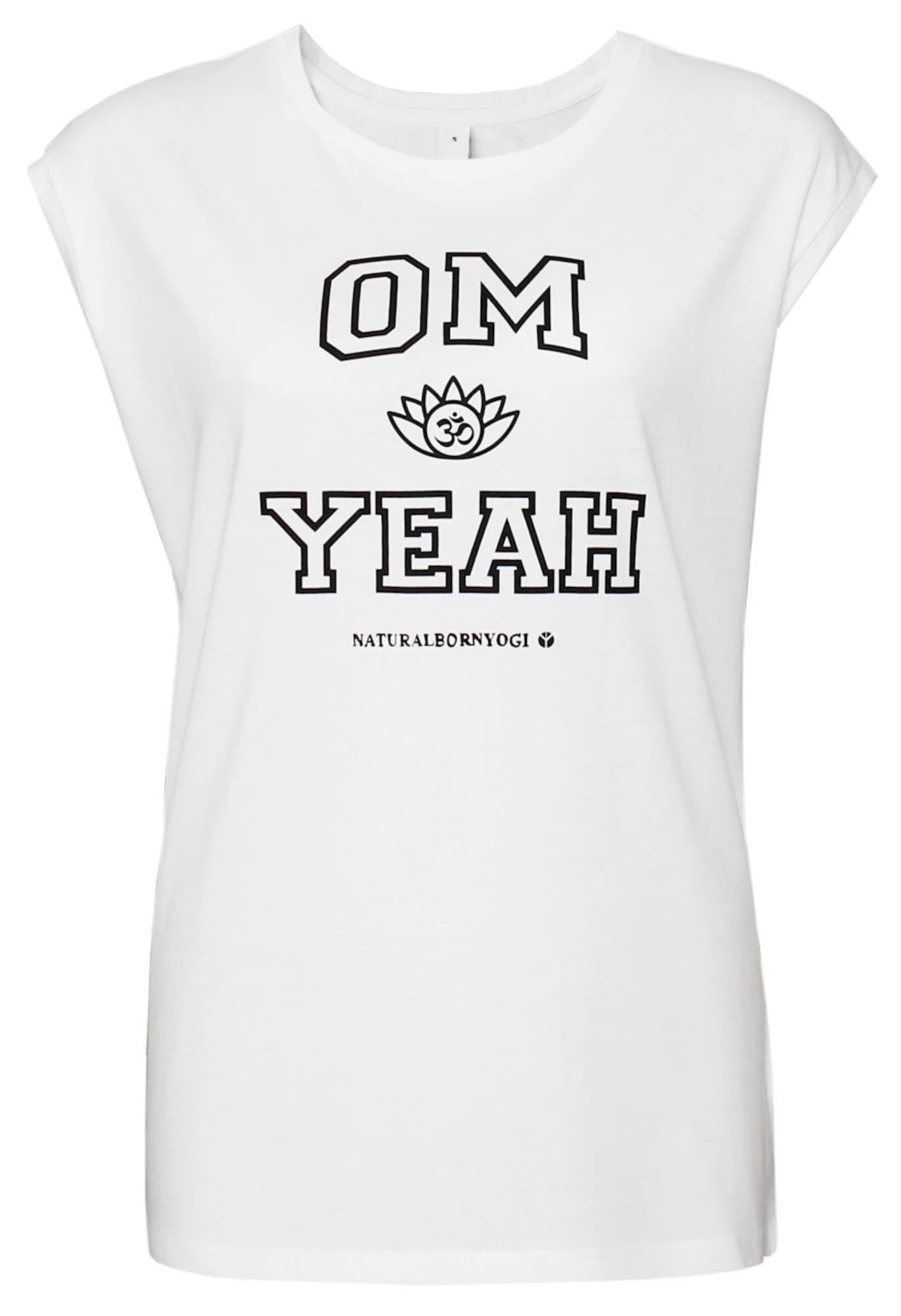 Yoga-top 'om Yeah' | Sportbekleidung > Sporttops > Yogatops | Natural Born Yogi