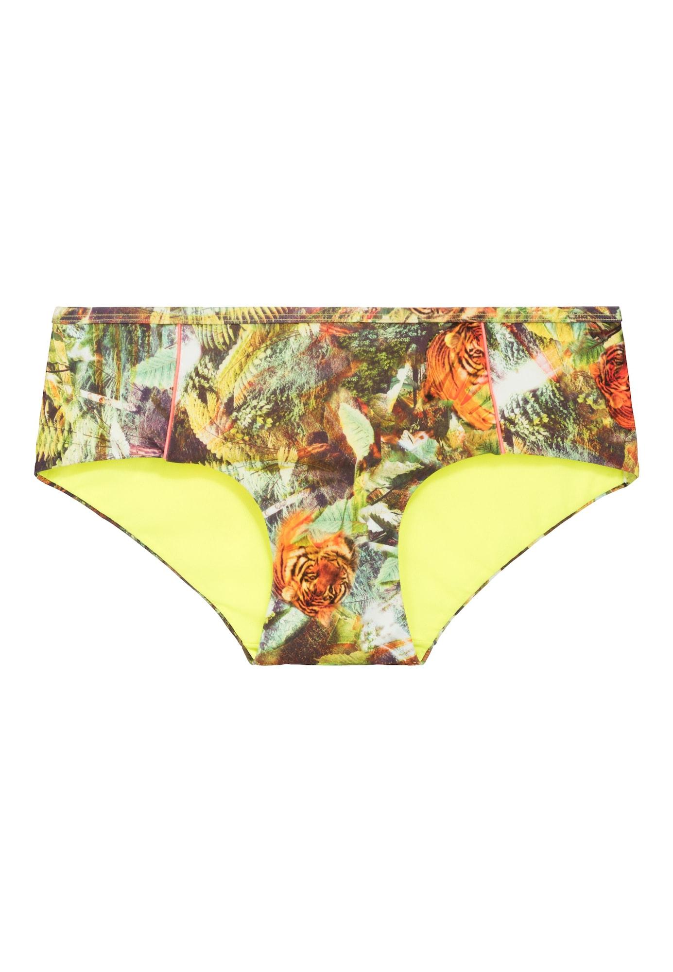 LingaDore, Dames Bikinibroek 'VOYAGE', geel / gemengde kleuren