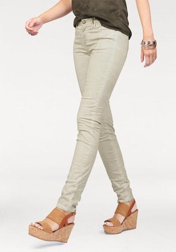 #LAURA #SCOTT #Damen #Röhrenhose #kitt