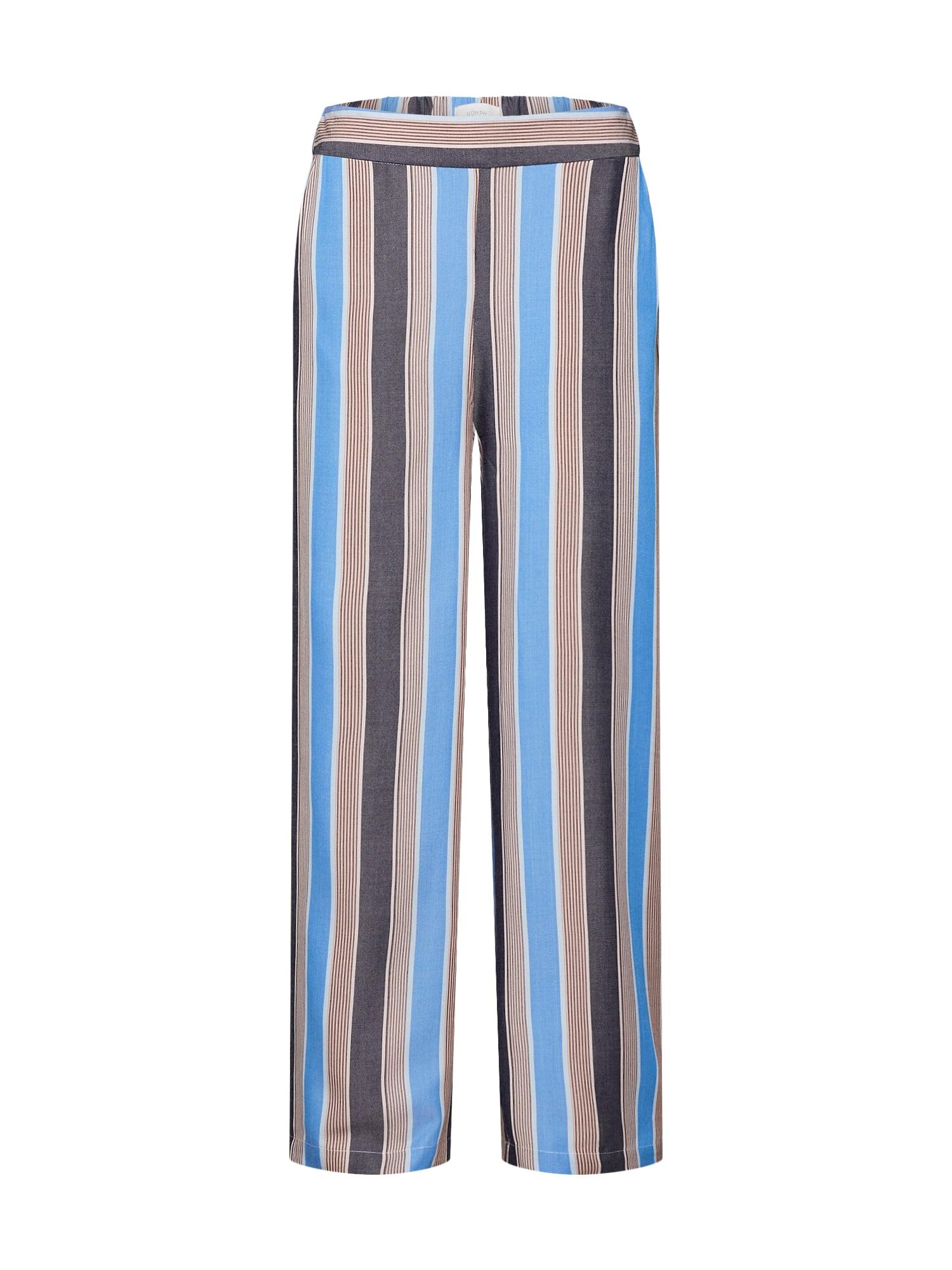Kalhoty New Avonlea modrá hnědá NÜMPH