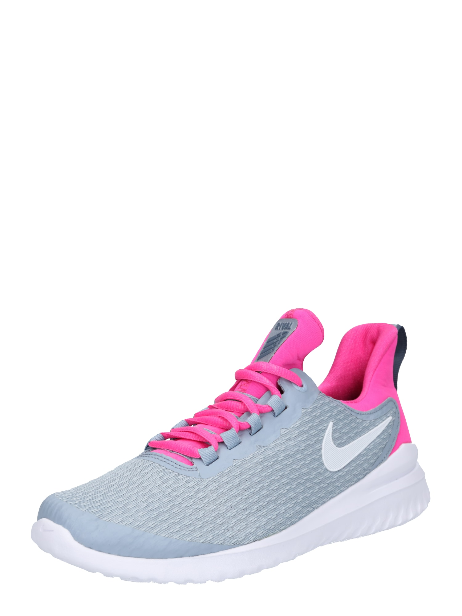 Běžecká obuv Renew Rival kouřově modrá pink NIKE