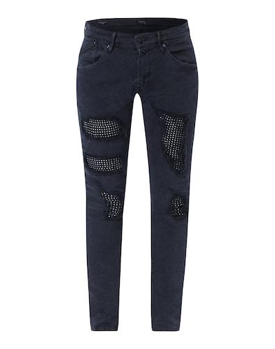 Jeans mit Glitzersteinen 'Crystal'