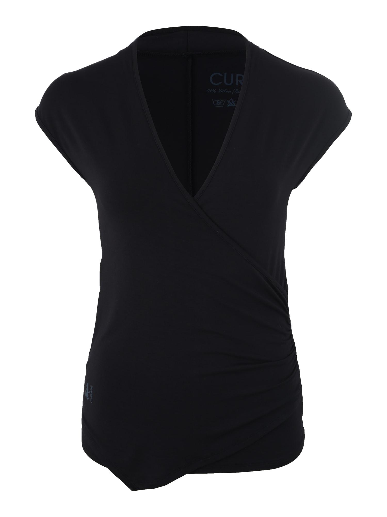 Sportovní top Wickeltop tmavě modrá CURARE Yogawear