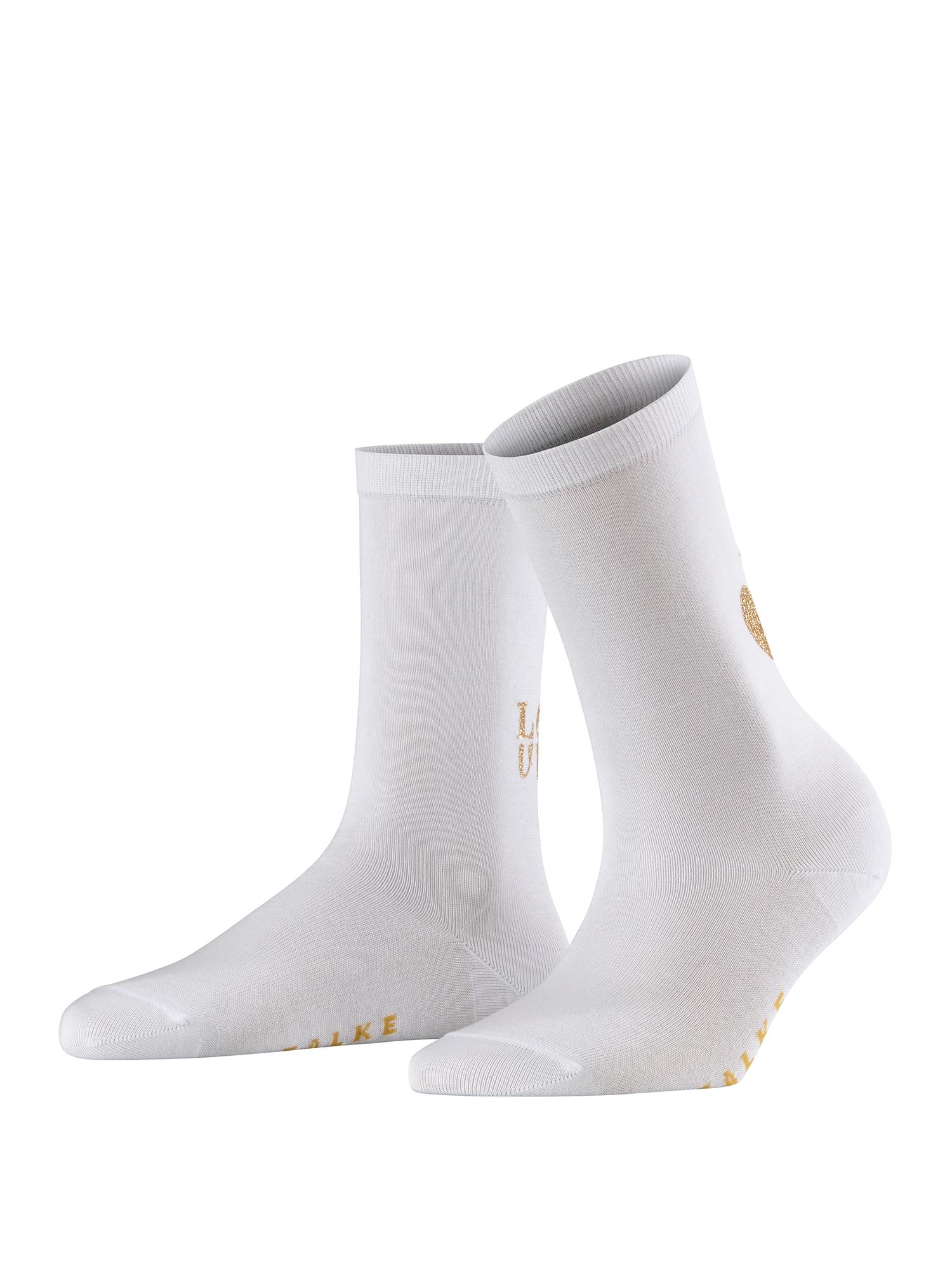Ponožky Heart SO bílá FALKE