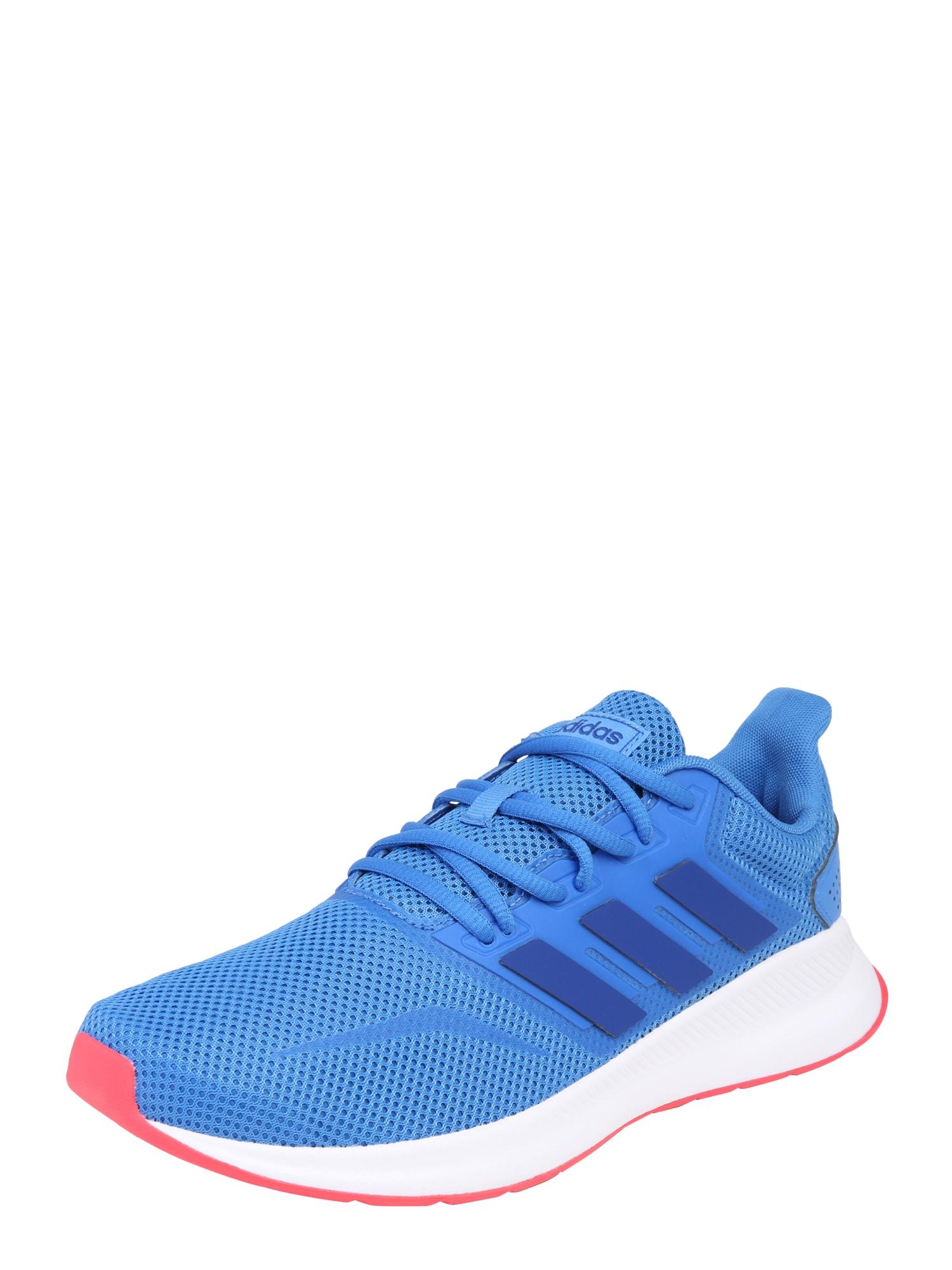 Sportovní boty RUNFALCON modrá pink ADIDAS PERFORMANCE