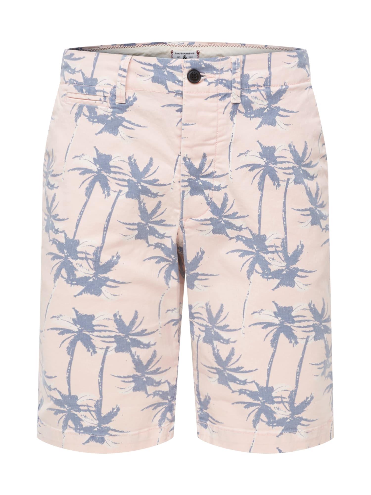 Chino kalhoty starorůžová JACK & JONES