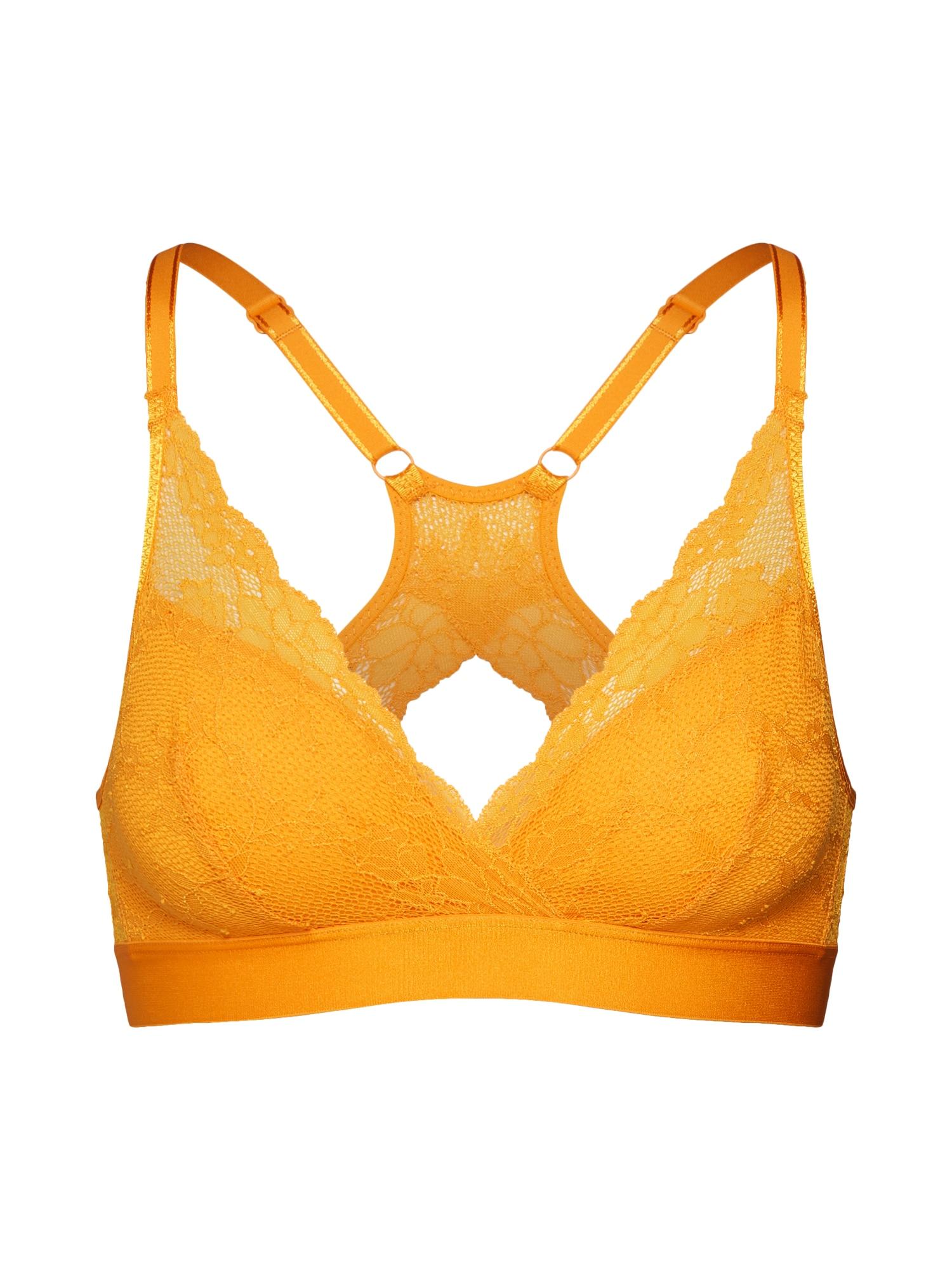 Podprsenka Everyday Lace zlatě žlutá Chantelle