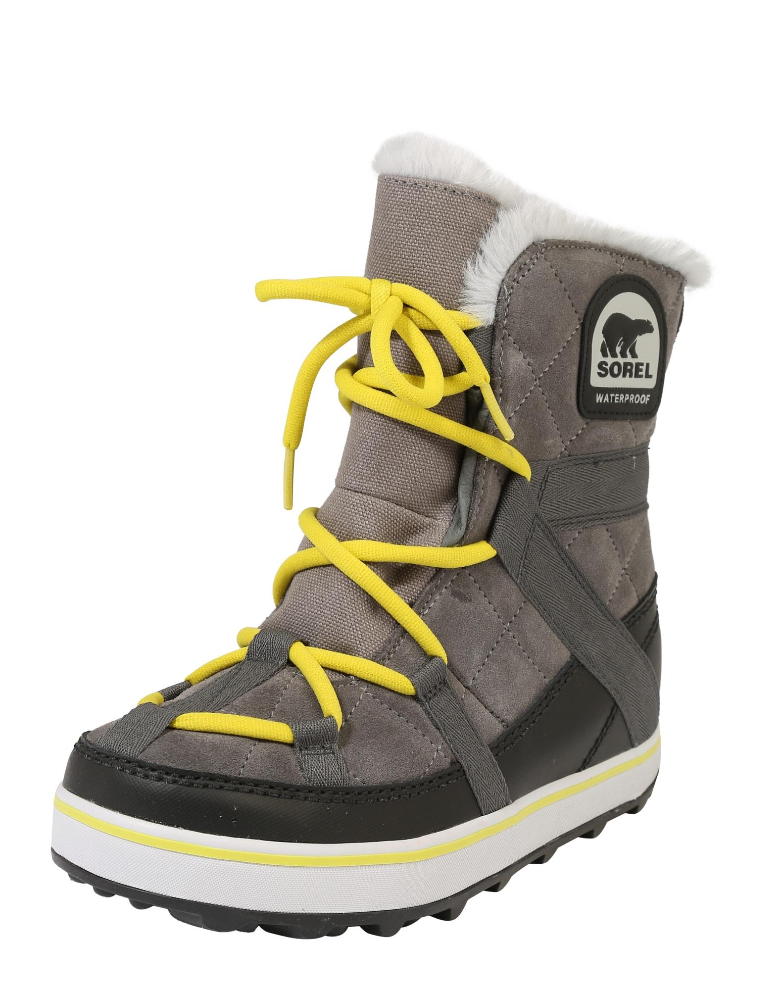 SOREL, Dames Snowboots 'Glacy Explorer', grijs
