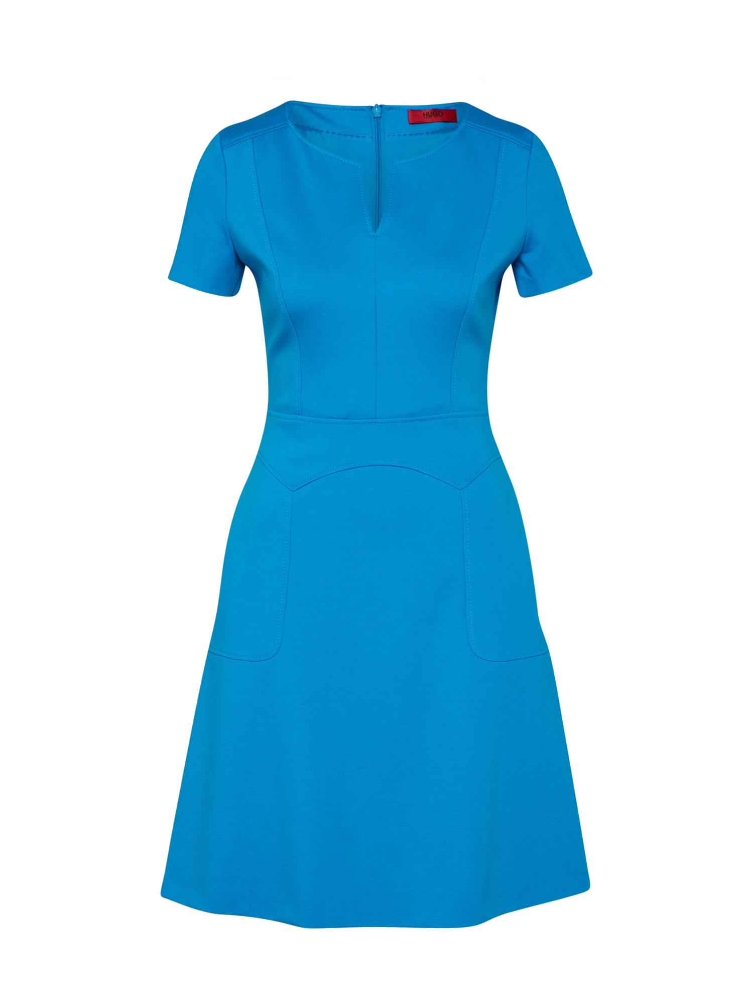Pouzdrové šaty Keziani kobaltová modř HUGO