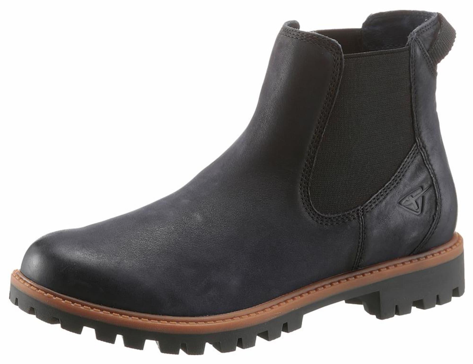 Chelsea boty tmavě modrá TAMARIS