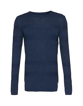 TOM TAILOR DENIM Pullover ´Structure Stripes´ Sale Angebote Klein Döbbern