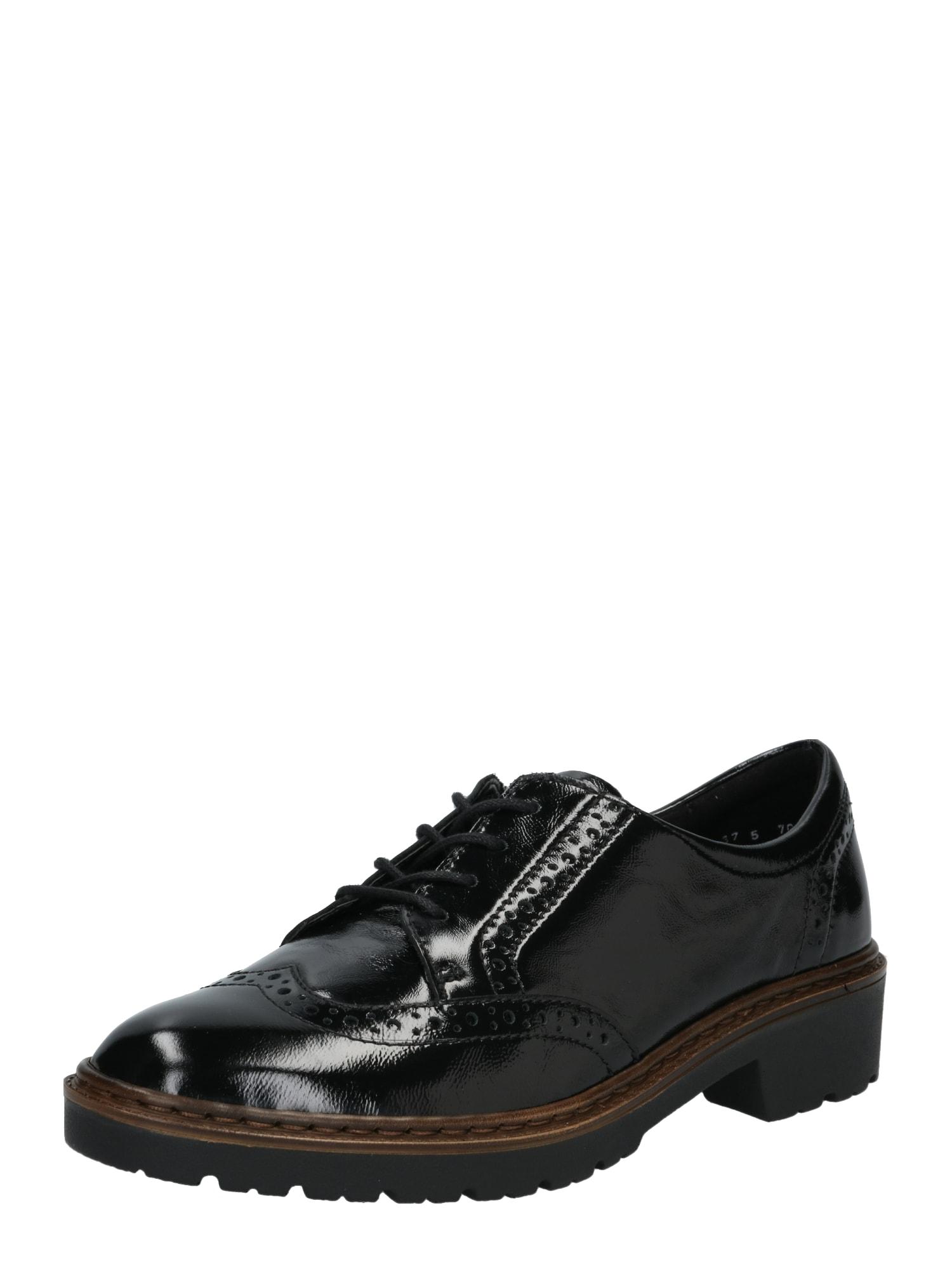 Šněrovací boty RICHMOND černá ARA