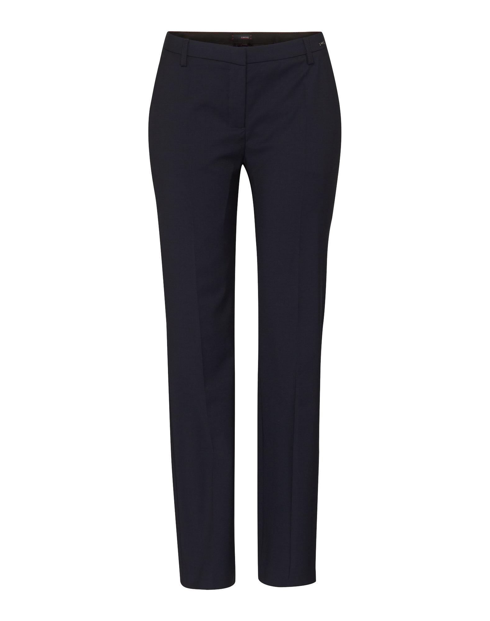 Kalhoty s puky Cisenza tmavě modrá CINQUE