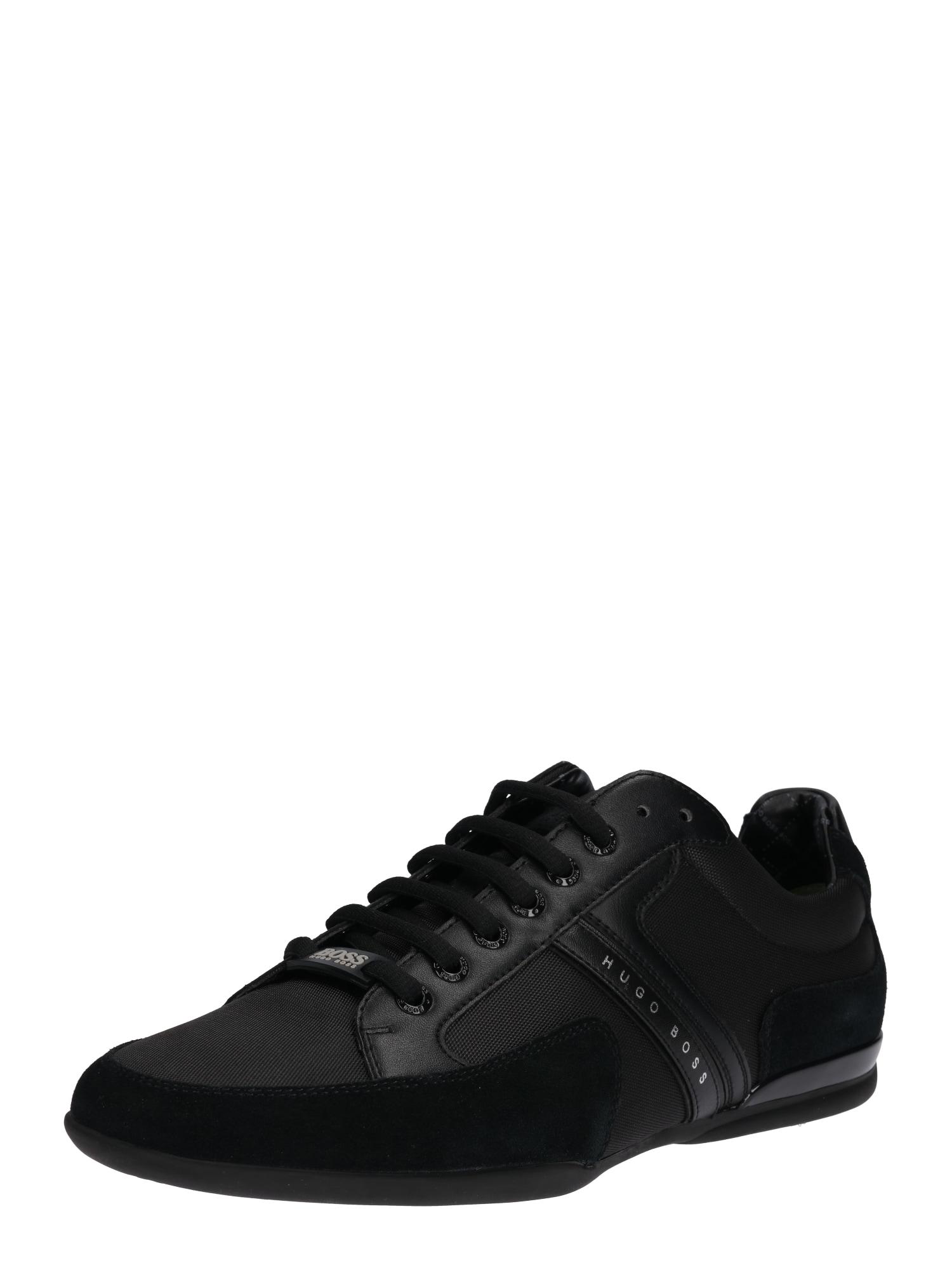 Sportovní šněrovací boty Spacit černá BOSS