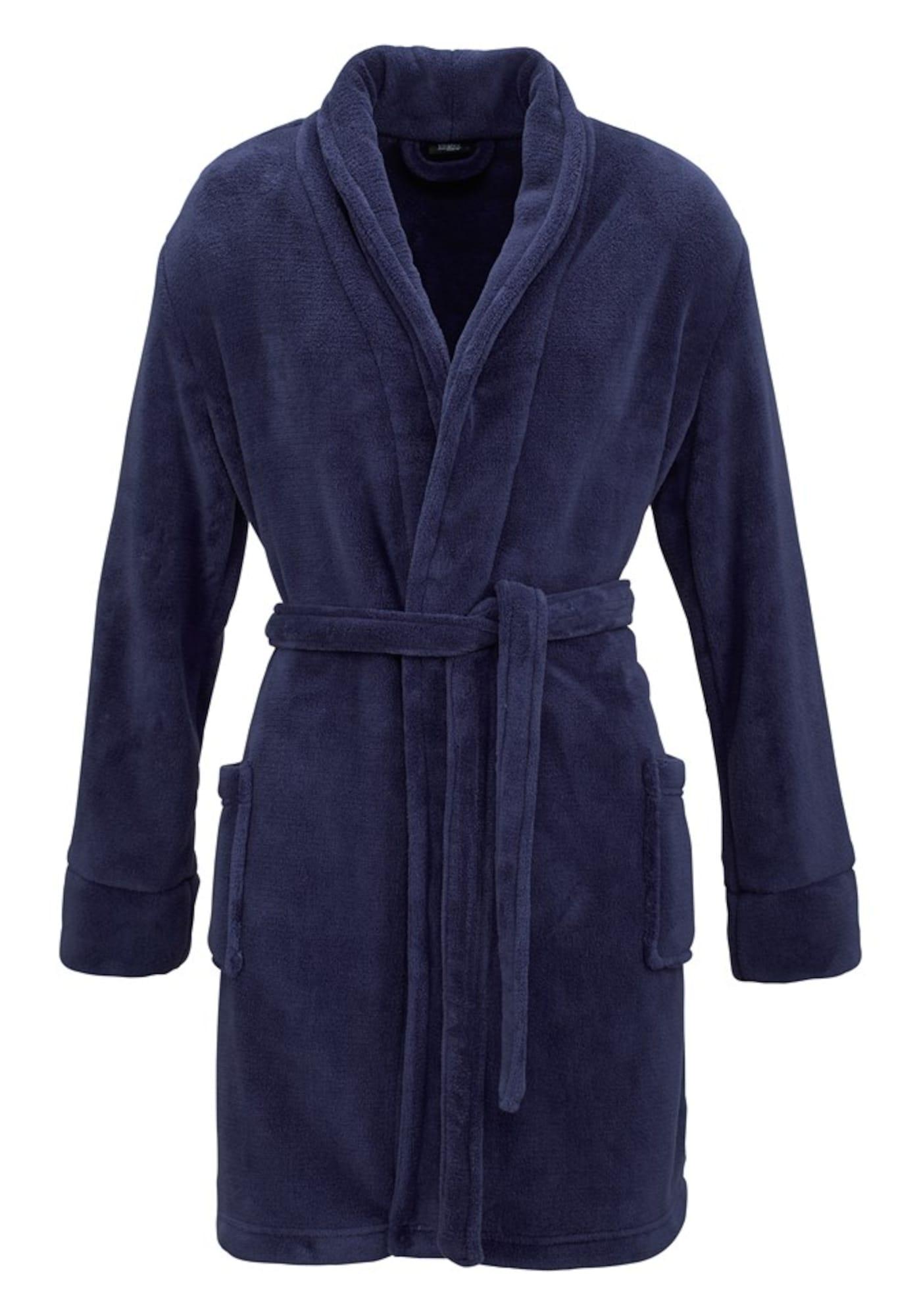 Morgenmantel | Bekleidung > Homewear > Morgenmäntel | Blau | PETITE FLEUR