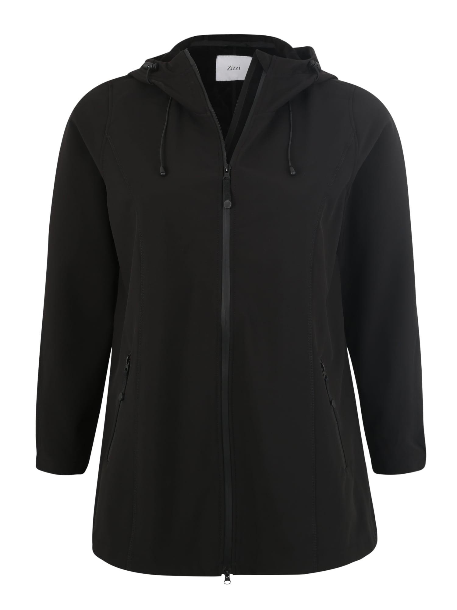 Sportovní bunda černá Zizzi