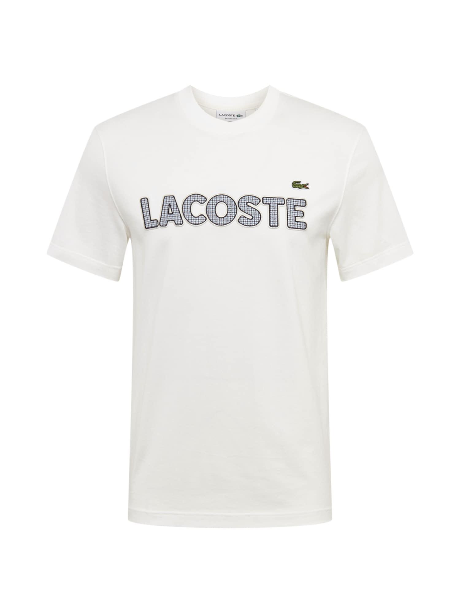 Tričko krémová LACOSTE