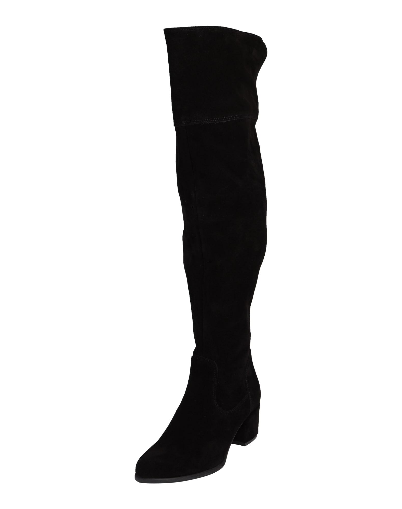 Tamaris overknee laarzen - Zwart