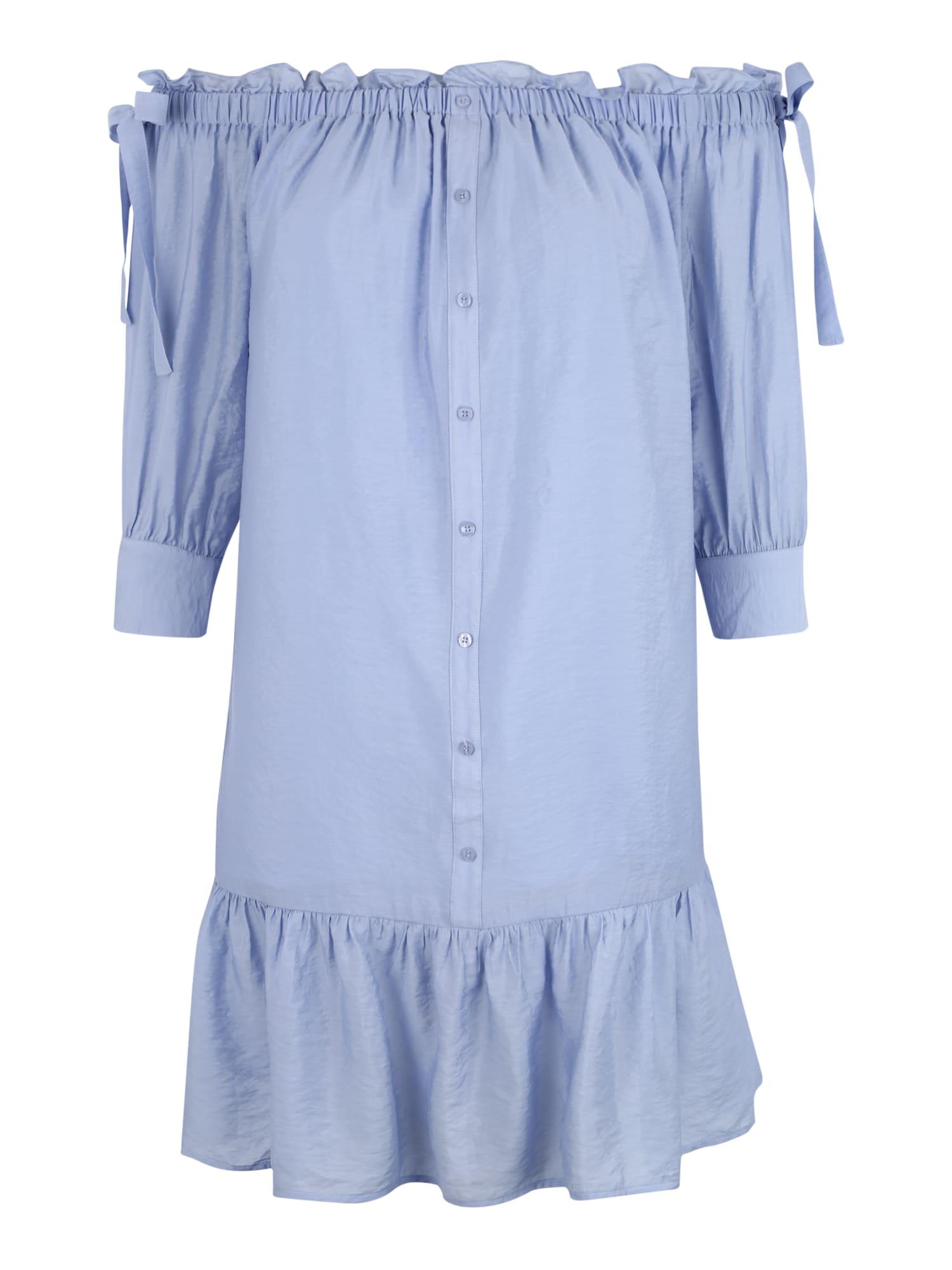 Košilové šaty světlemodrá Lost Ink Plus