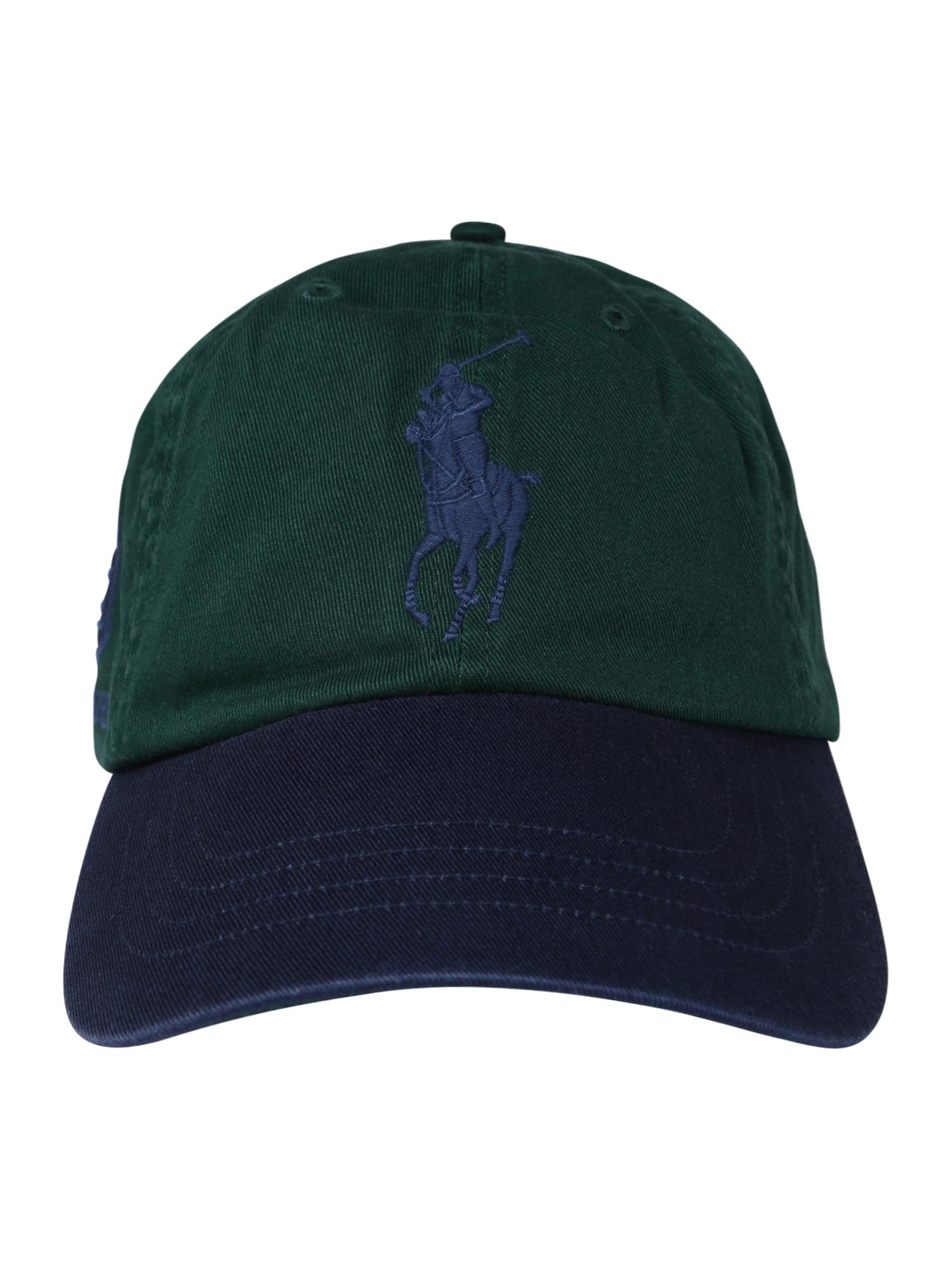 Kšiltovka modrá zelená černá POLO RALPH LAUREN