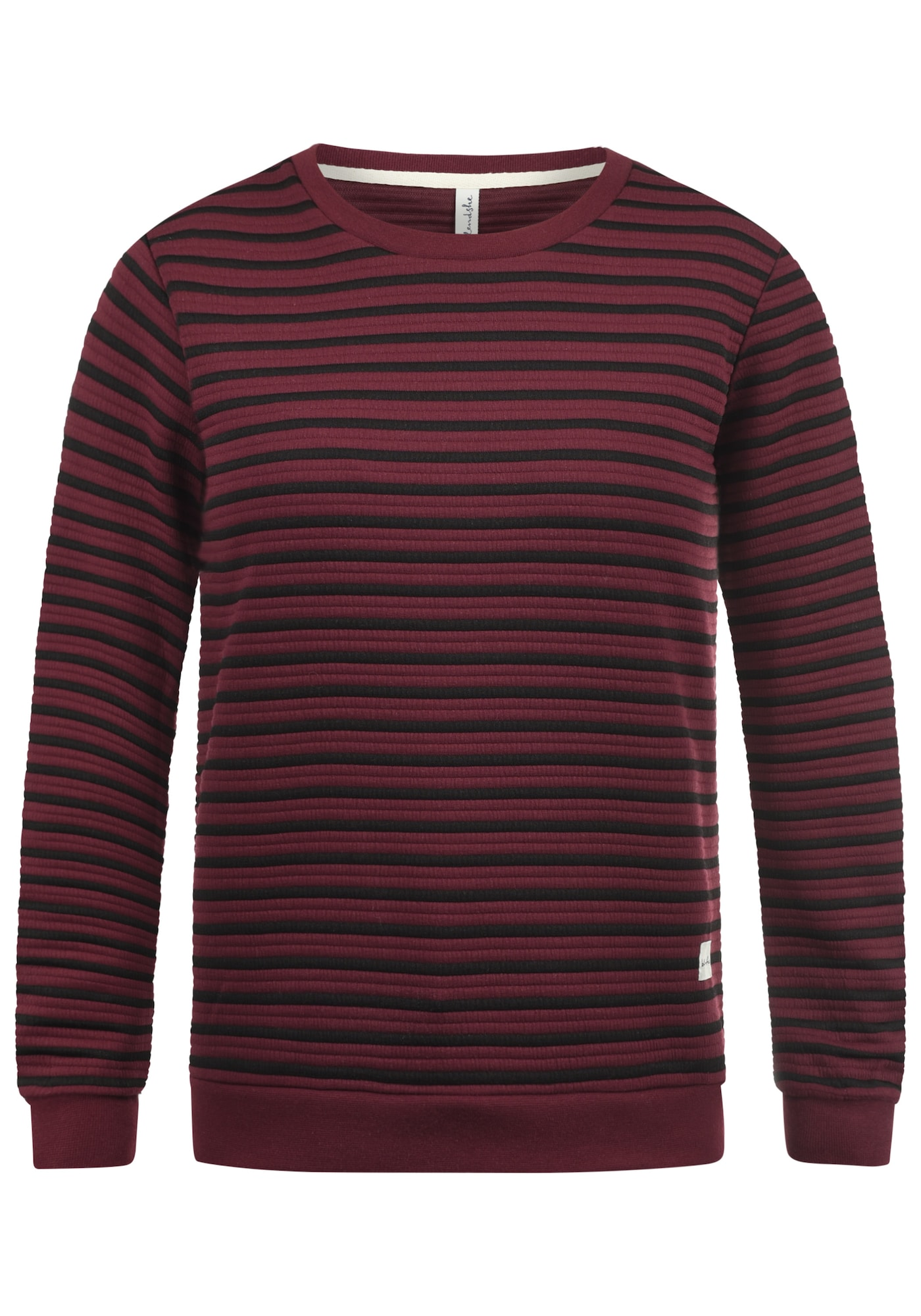 Sweatshirt | Bekleidung > Sweatshirts & -jacken > Sweatshirts | Weinrot - Schwarz | Blend She