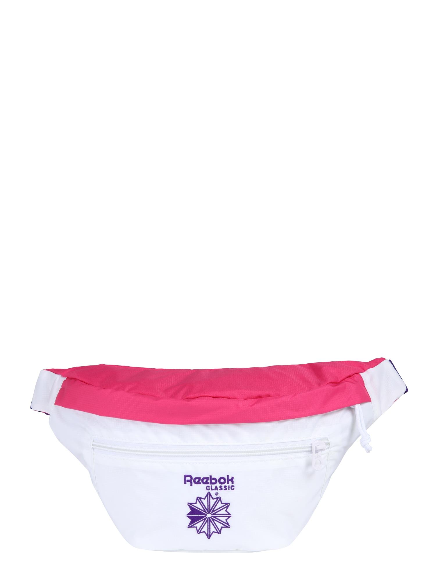 Ledvinka Cl Retro running pink bílá Reebok Classic