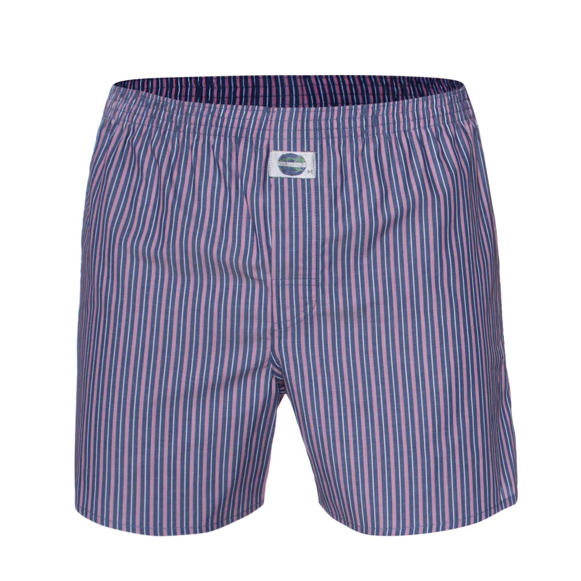 Boxerky Stripe modrá růžová D.E.A.L International