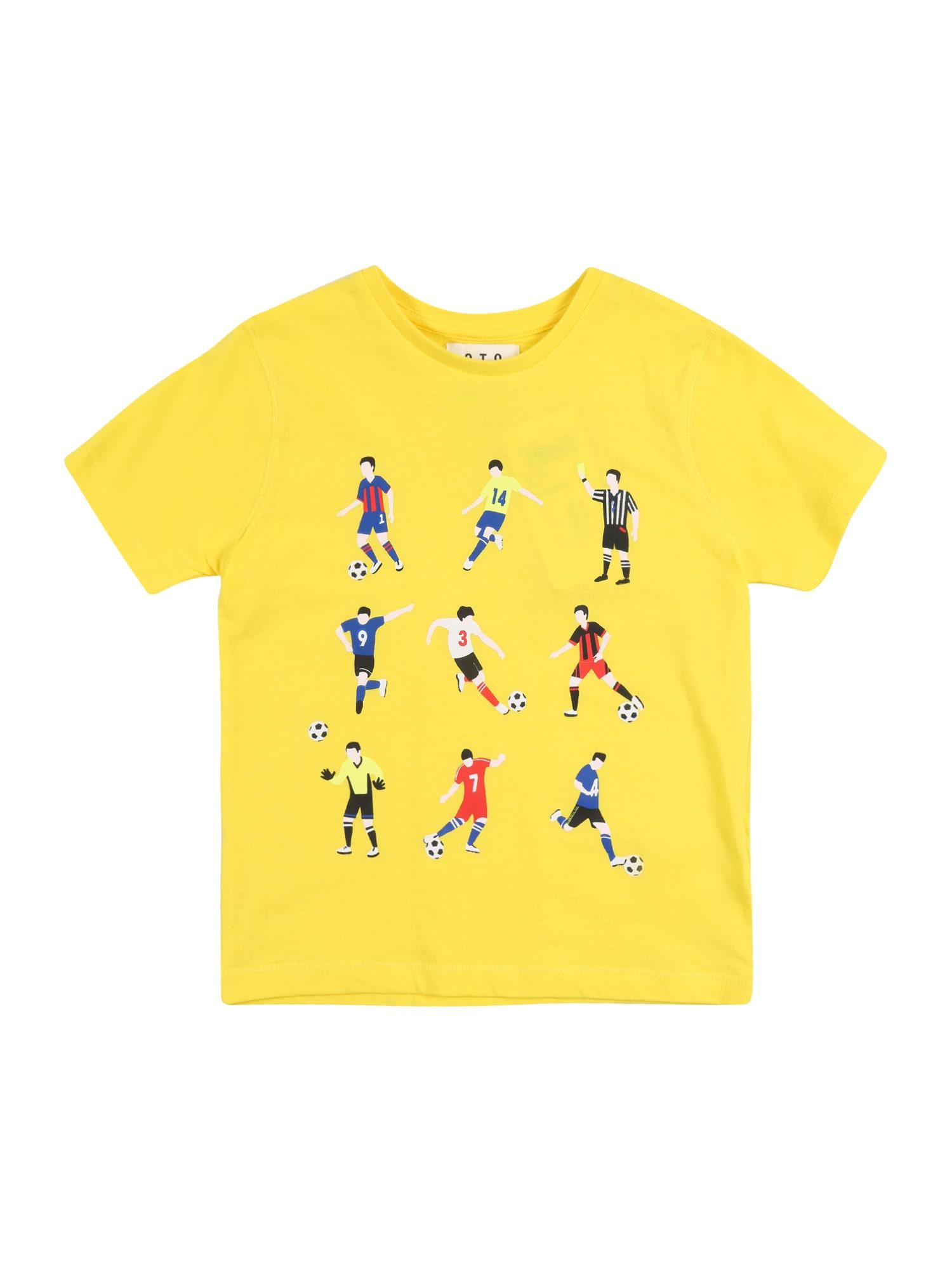 STACCATO Tričko  žlté