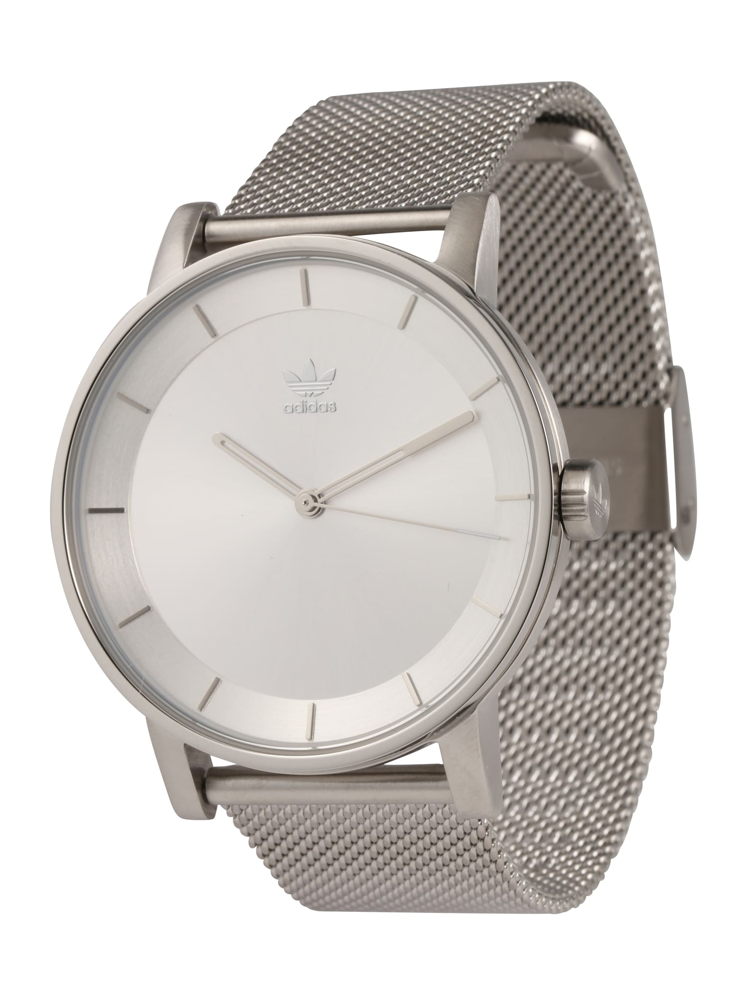 Analogové hodinky District_M1 stříbrná ADIDAS ORIGINALS
