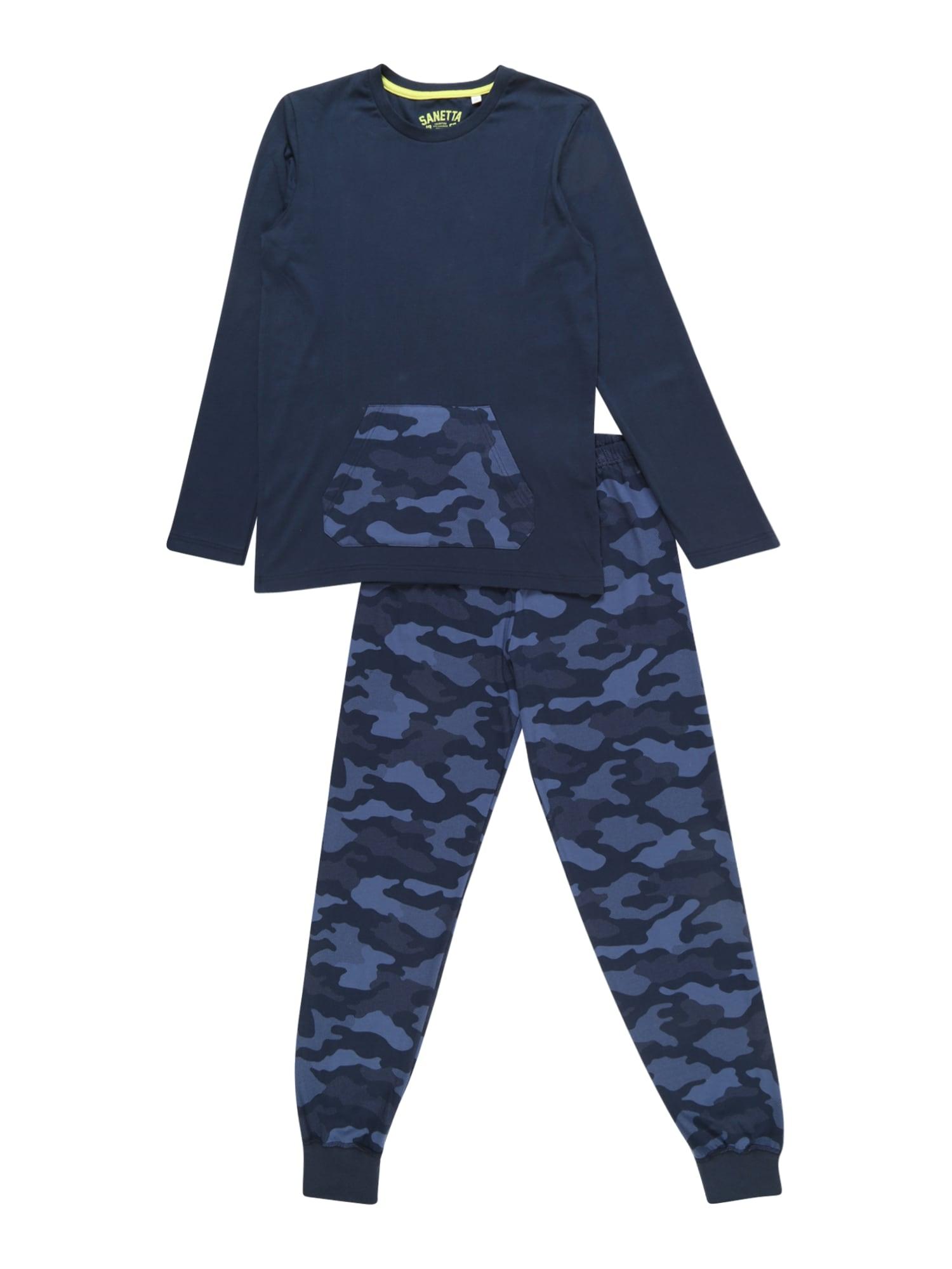 Pyžamo modrá SANETTA