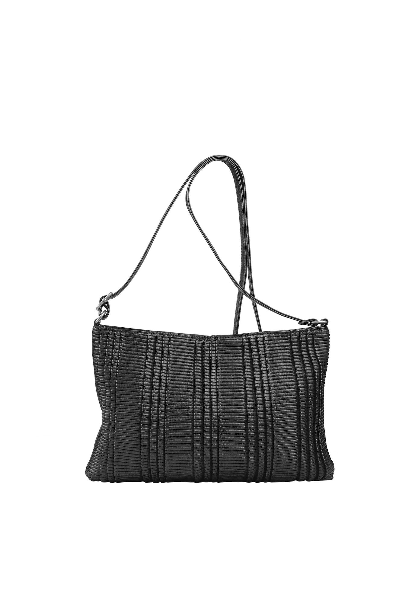 Crossbody-Bag 'BRISE' | Taschen > Handtaschen > Umhängetaschen | Schwarz | Fritzi Aus Preußen