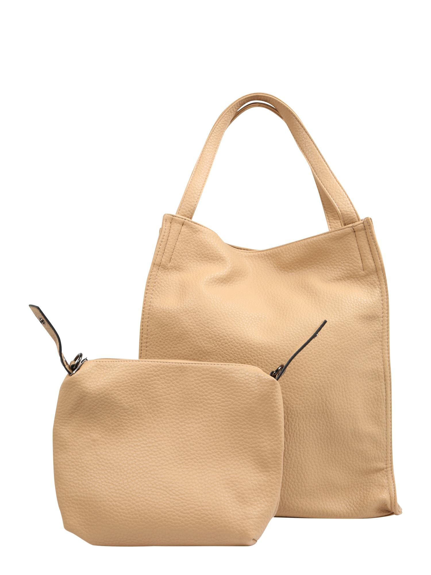Nákupní taška písková Mae & Ivy