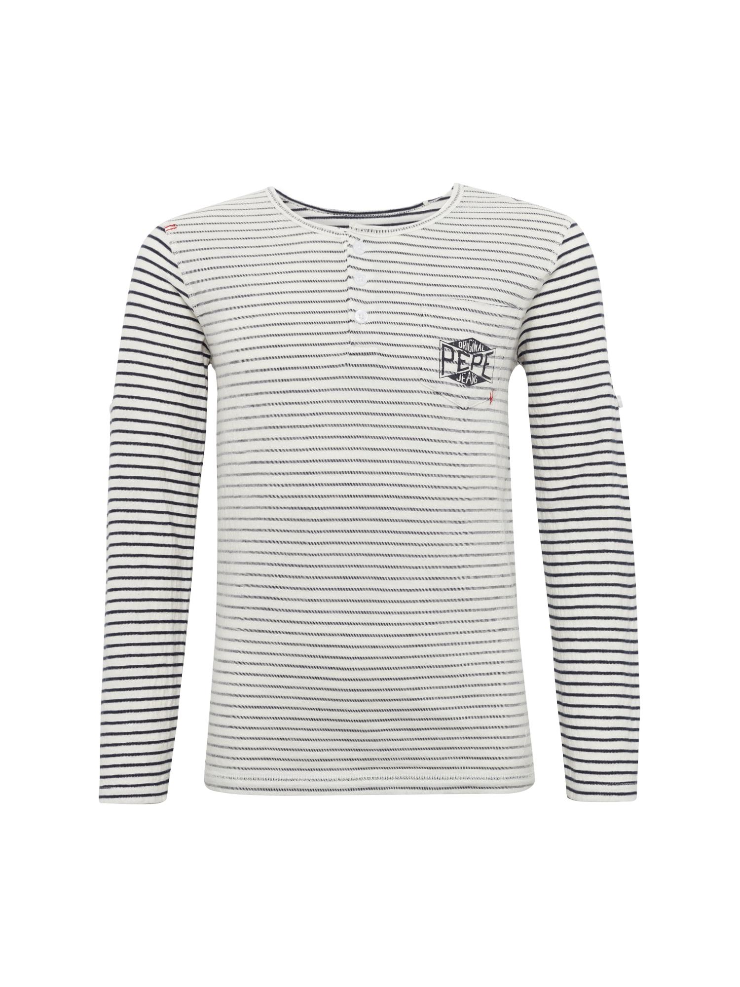 Pepe Jeans Jongens Shirt JOBBY grijs zwart wit