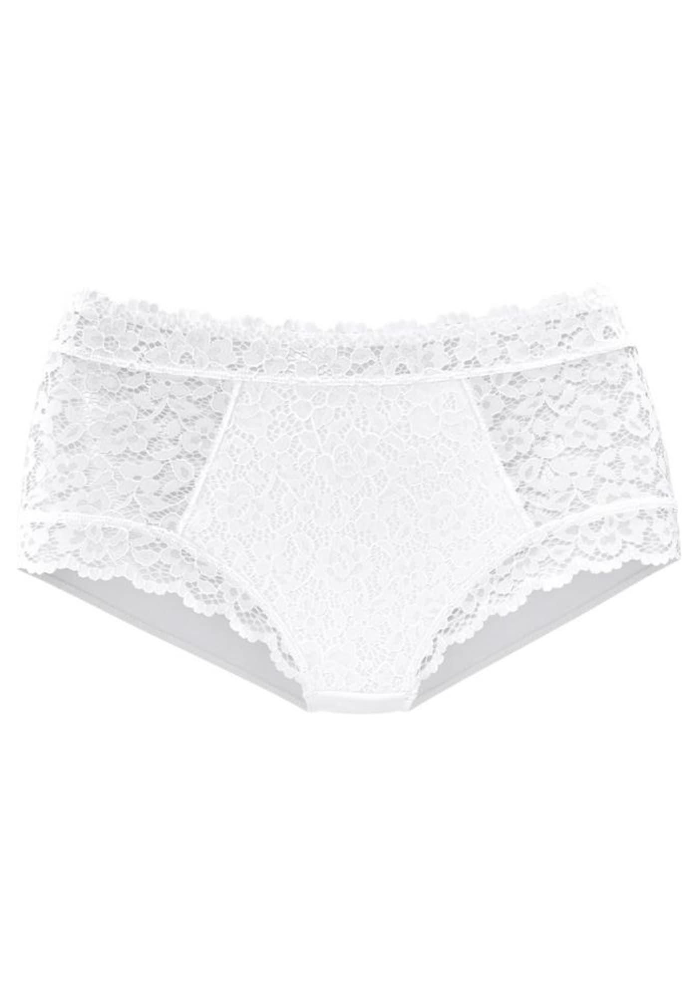 LASCANA Kalhotky  bílá
