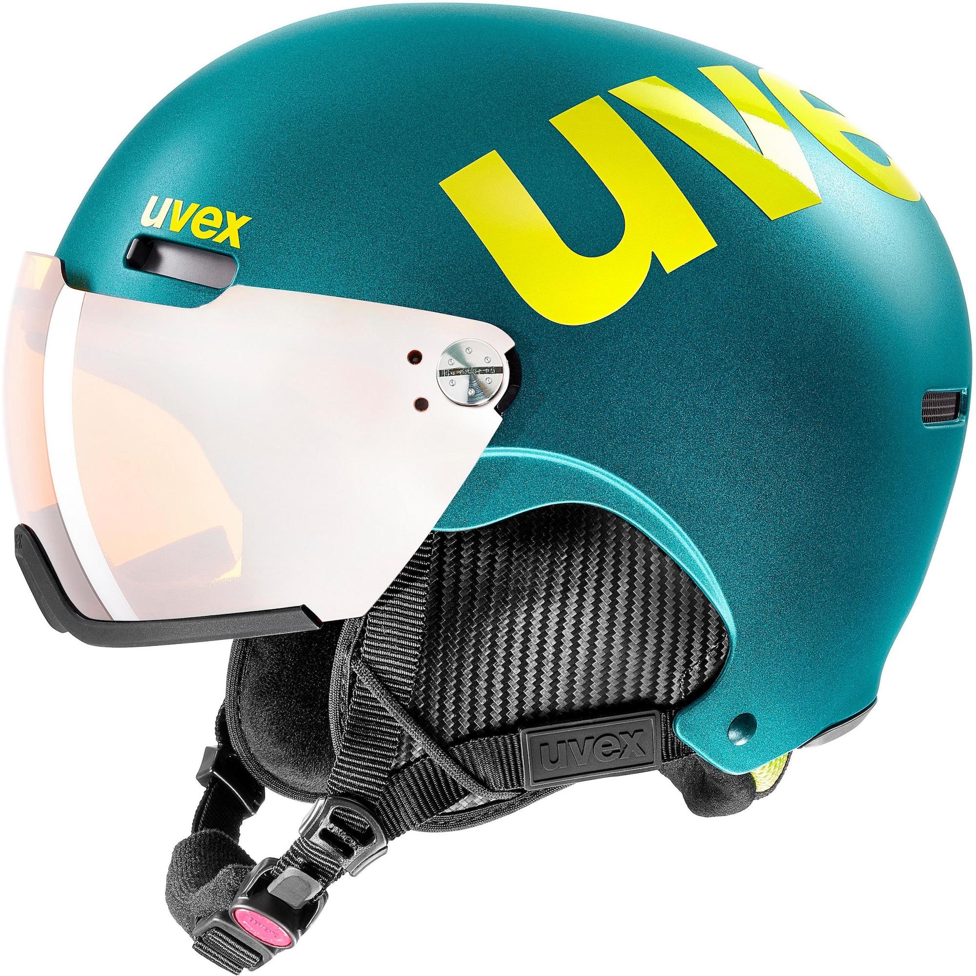 Skihelm 'hlmt 500 visor'   Accessoires > Caps > Visors   Türkis   Uvex