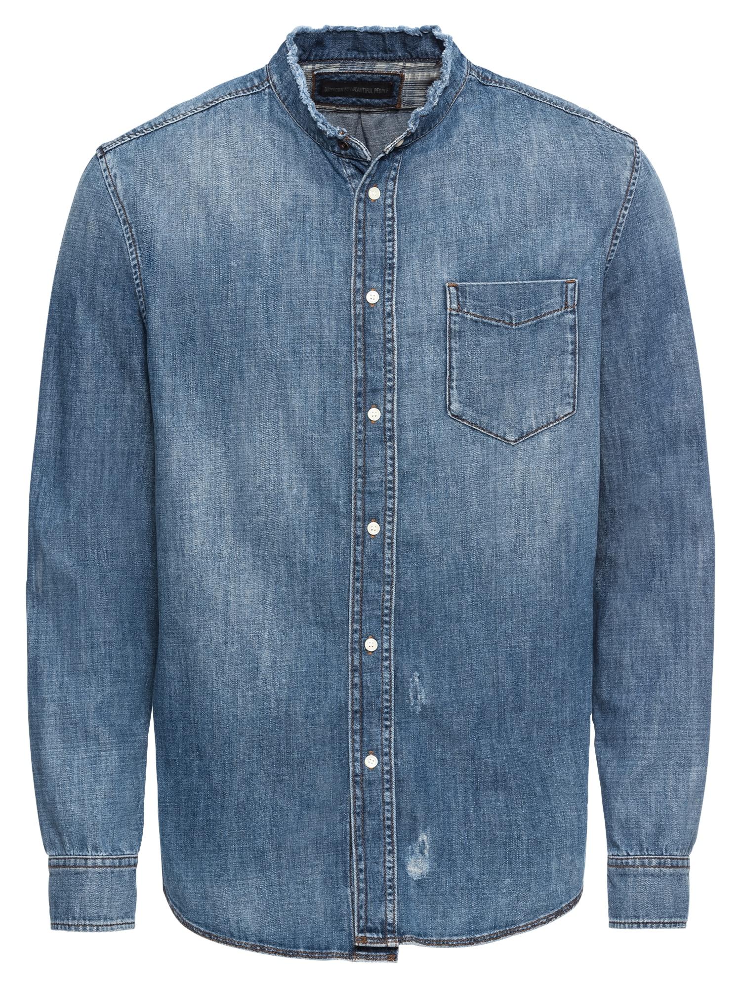 Košile DONNY modrá džínovina DRYKORN