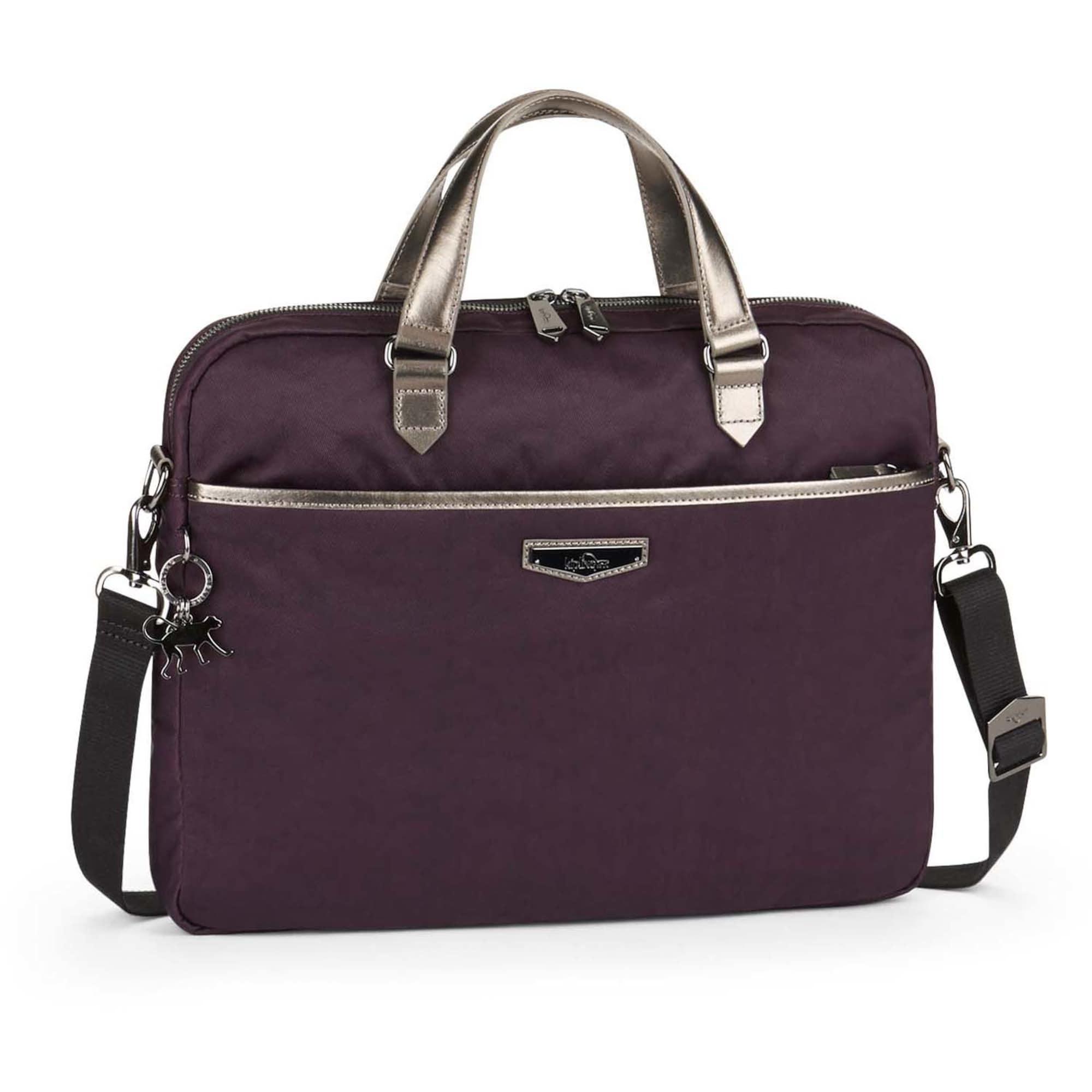 City Kaitlyn Laptoptasche 39 cm | Taschen > Business Taschen | Gold - Bordeaux | KIPLING