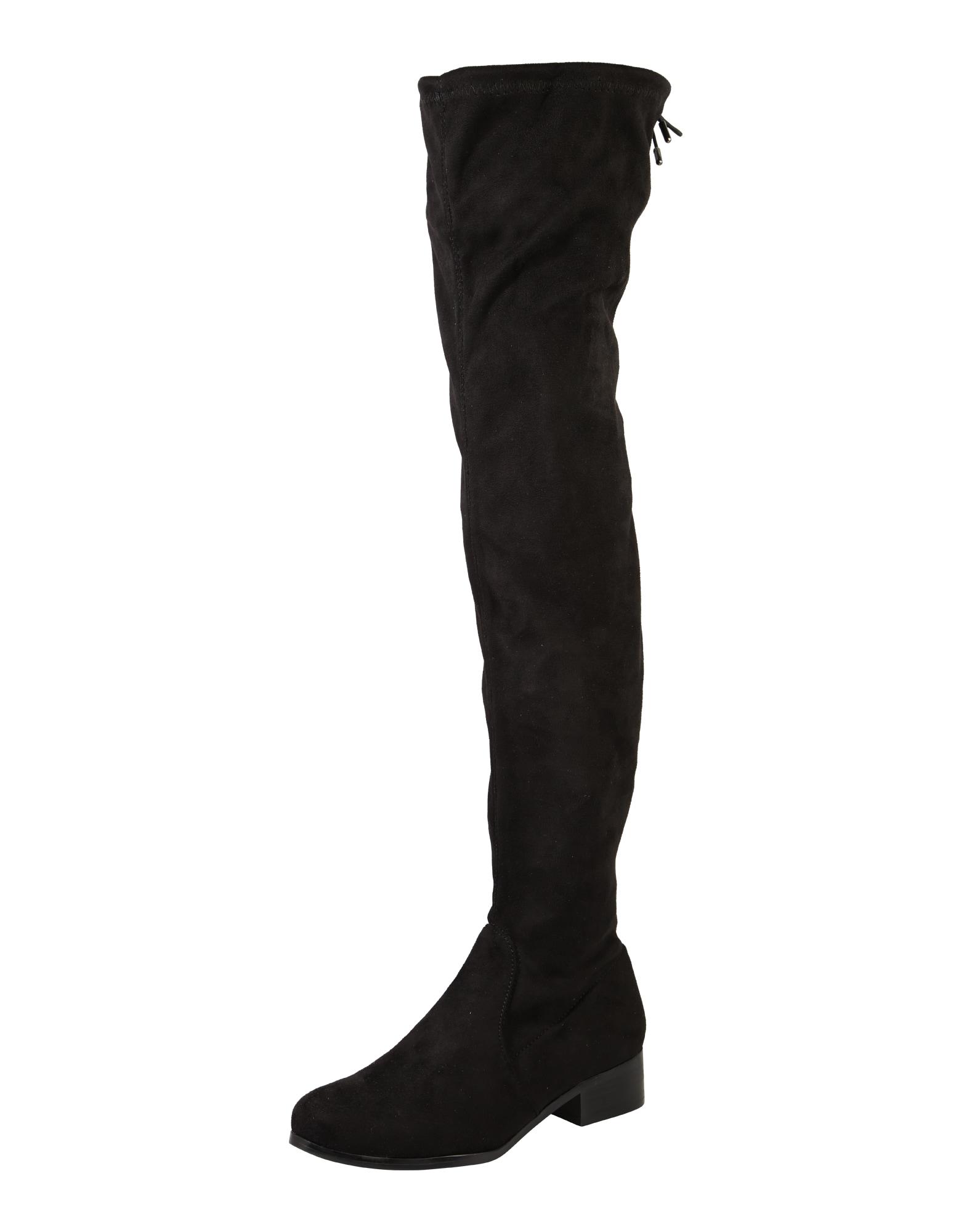 Kozačky nad kolena černá BULLBOXER