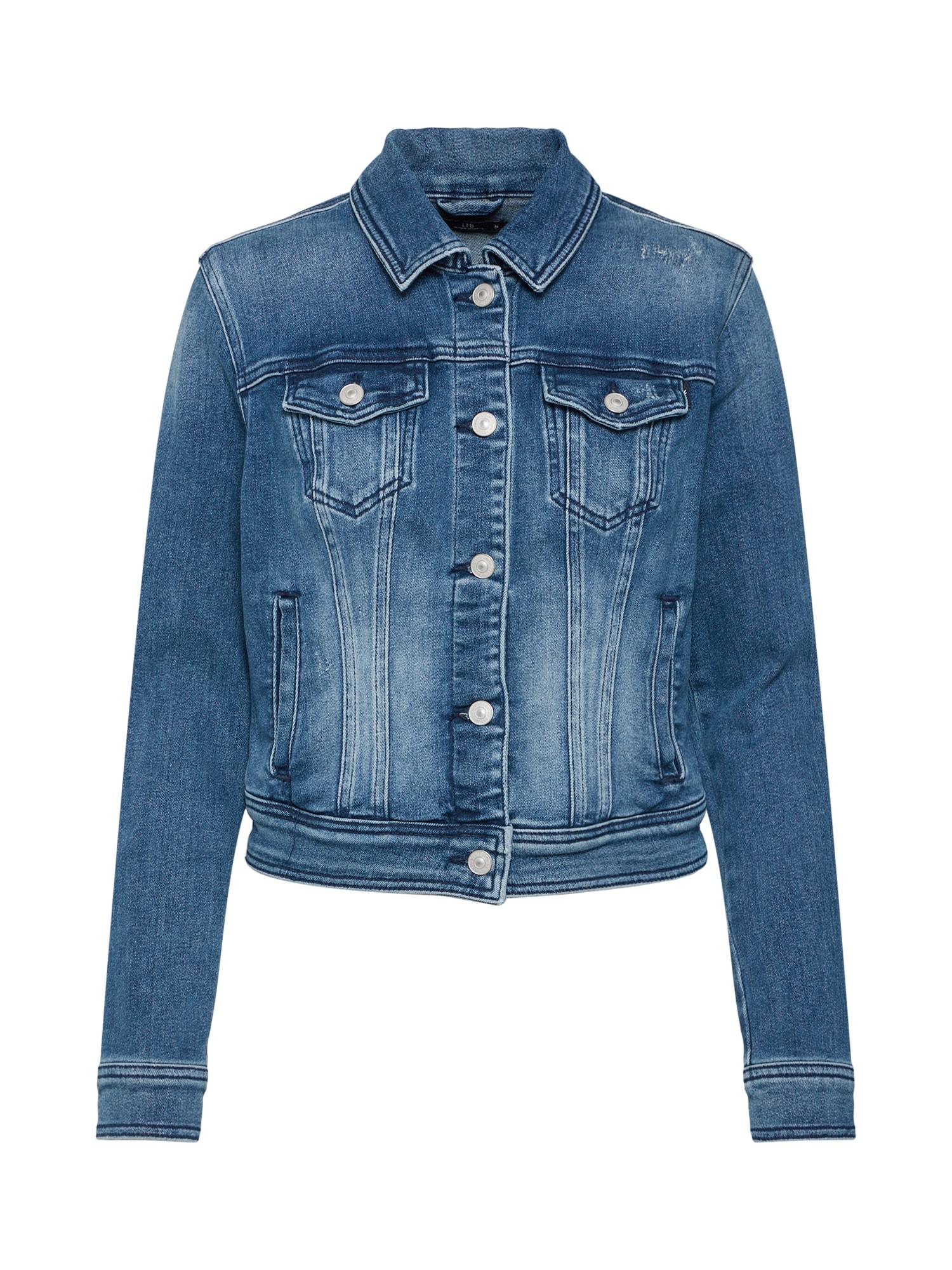 Přechodná bunda Destin modrá džínovina LTB